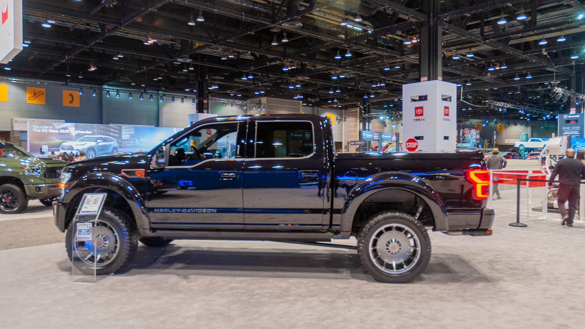 2020 Ford F-150 Harley-Davidson by Tuscany Motors, 2020 Chicago Auto Show