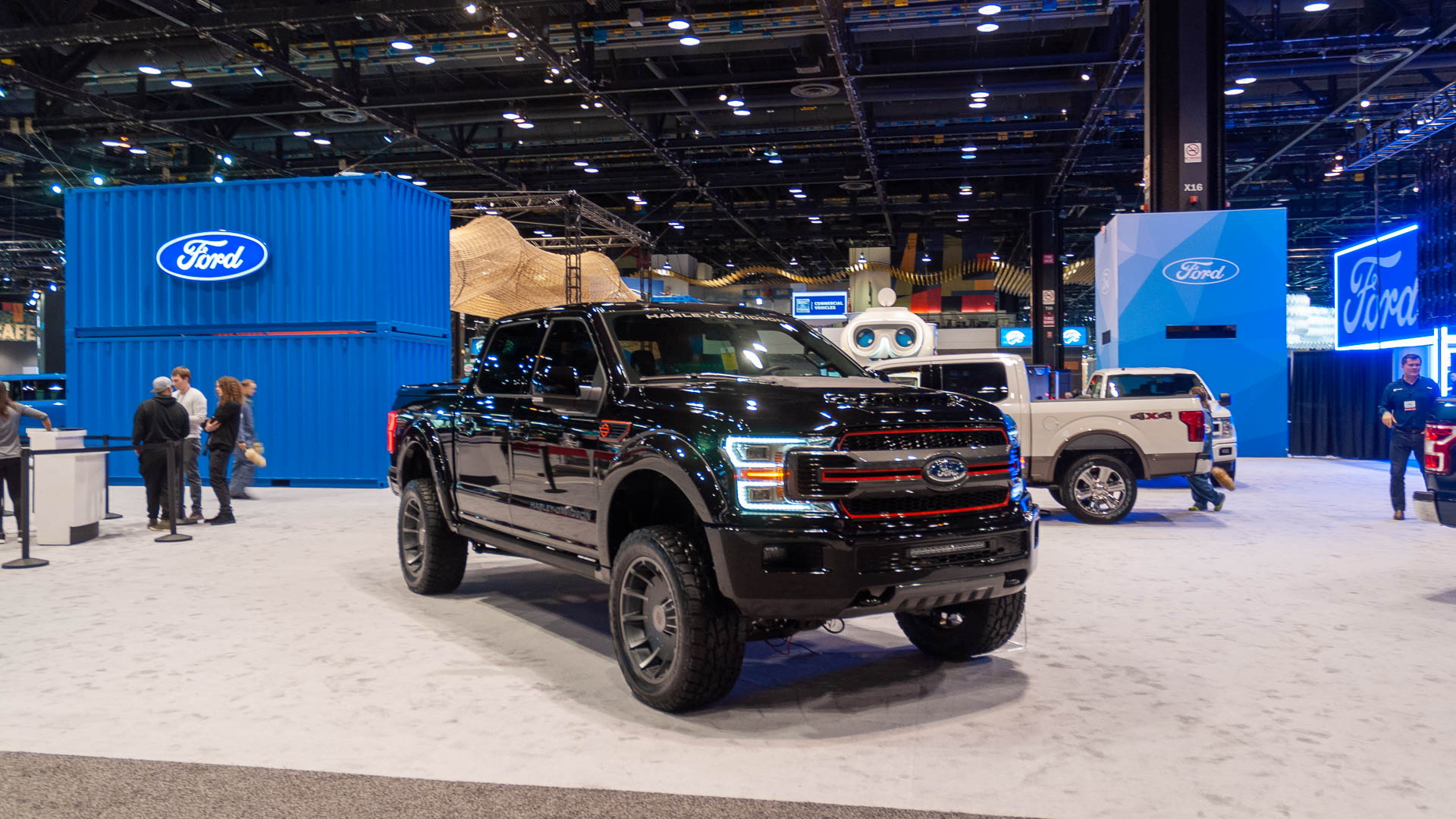 2020 Ford F-150 Harley-Davidson arrives with 700-plus ...