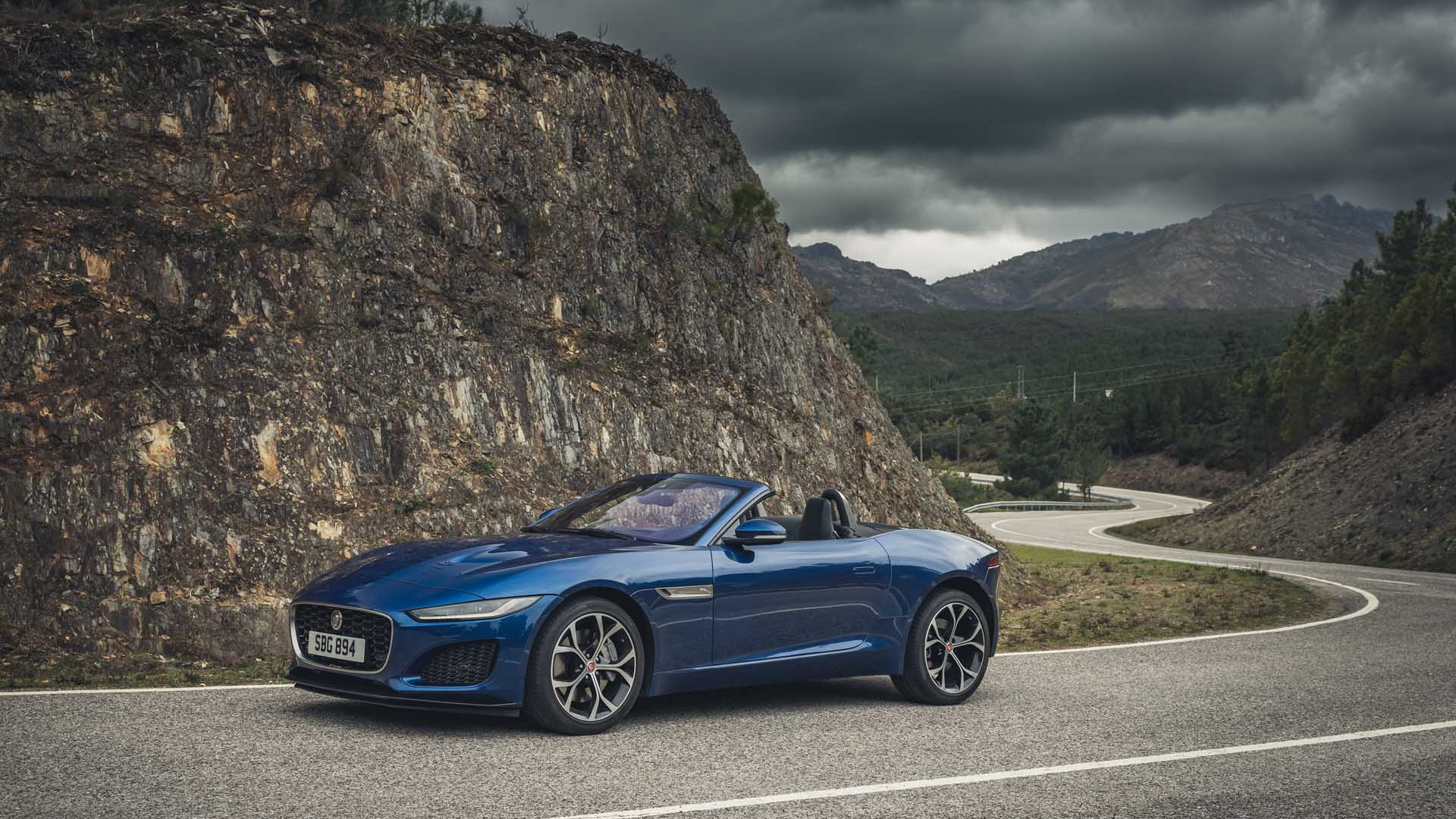 2021 Jaguar F-Type P300 first drive