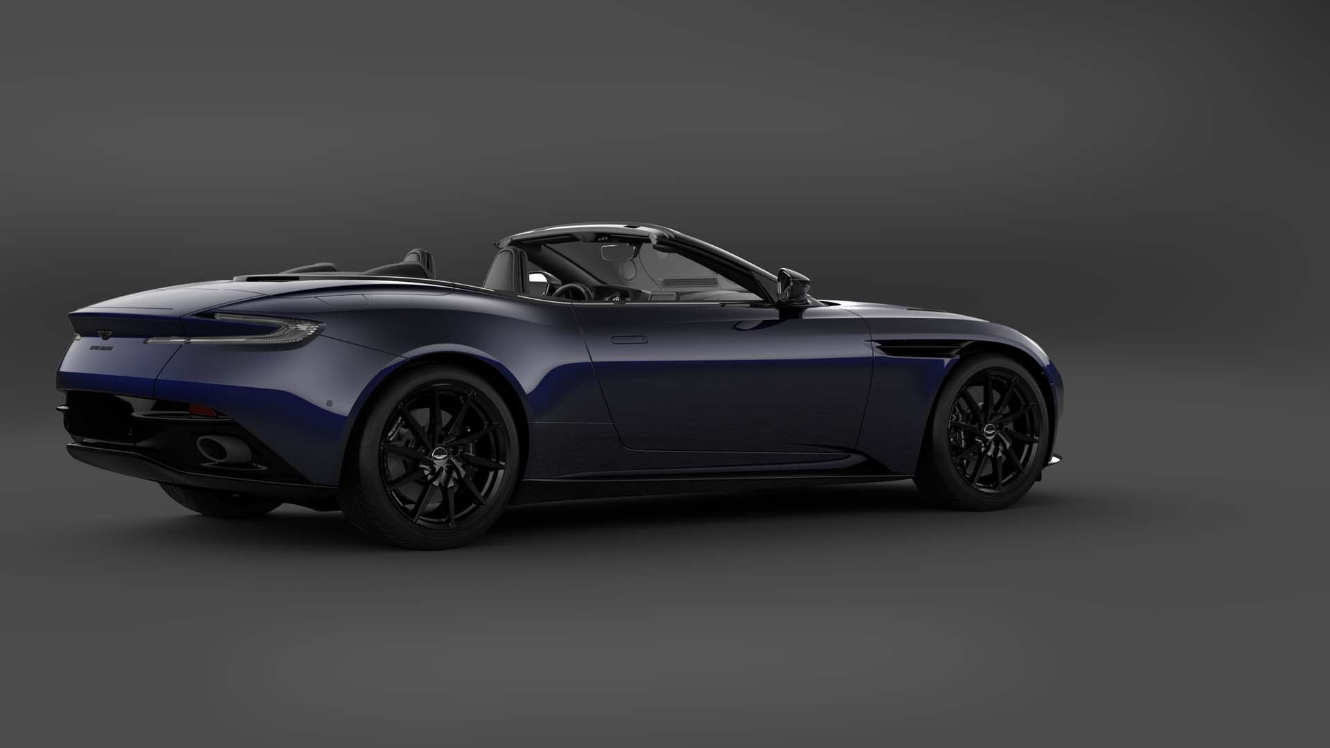 2021 Aston Martin DB11 V8 Volante Shadow Edition