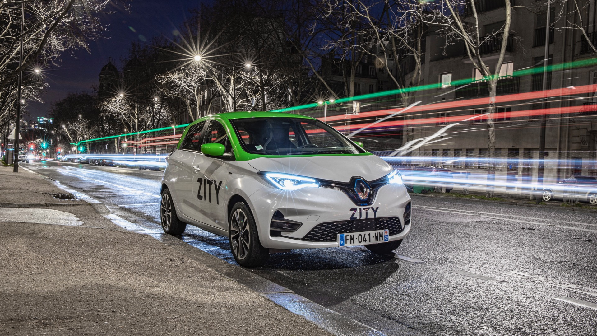 Renault Zity car-sharing service