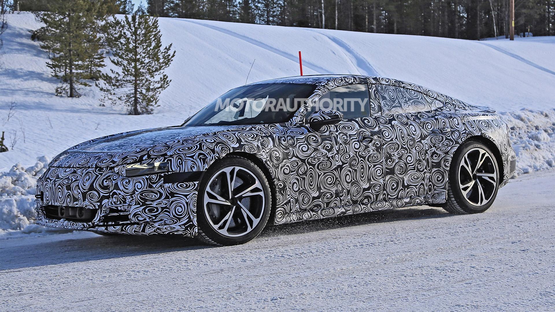 2022 Audi E-Tron GT spy shots - Photo credit:S. Baldauf/SB-Medien