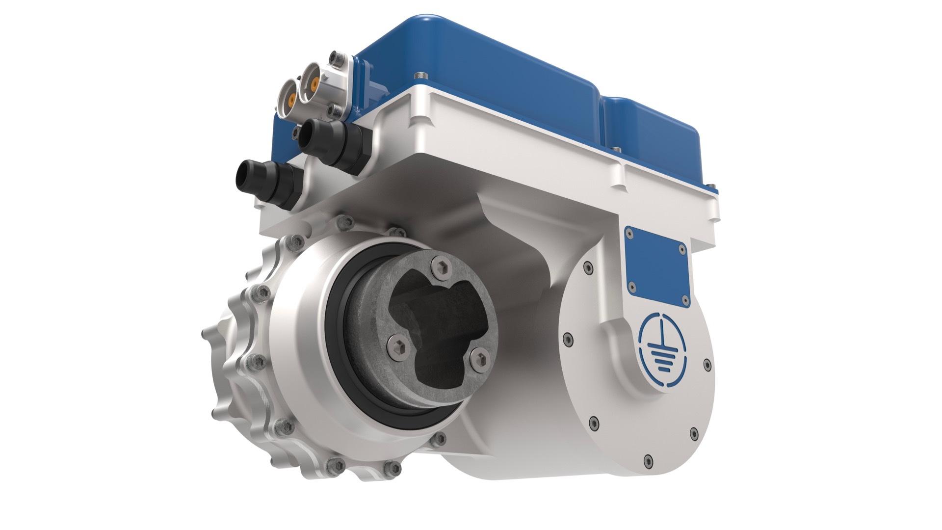 Equipmake Ampere electric motor