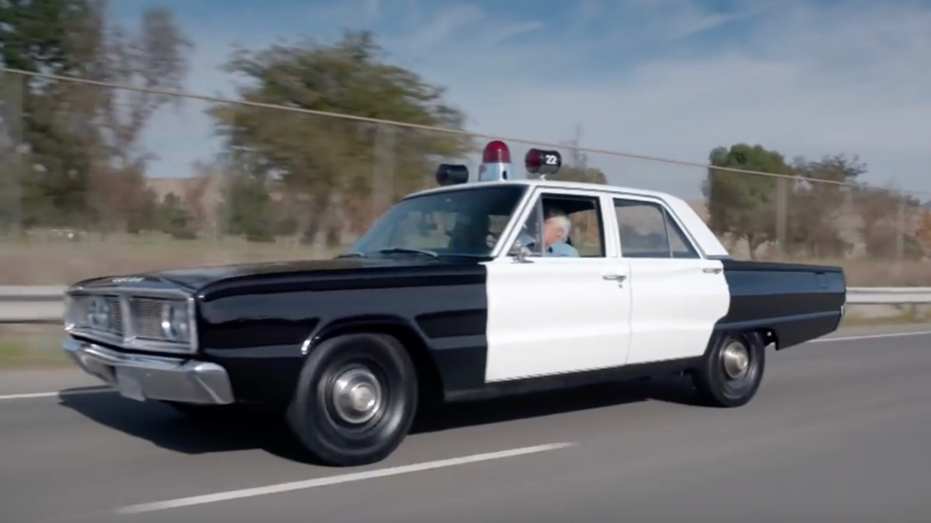 1966 Dodge Coronet police car Jay Leno's Garage screenshot