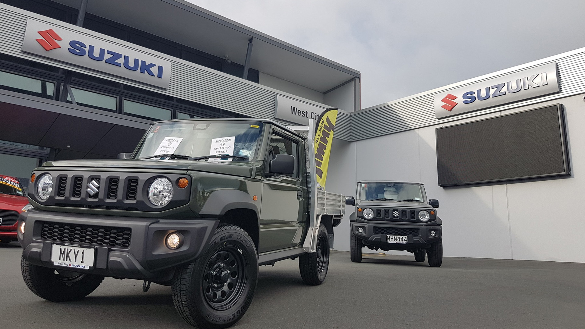 2019 Suzuki Jimny Flatdeck pickup truck conversion - Photo credit: West City Suzuki/Facebook