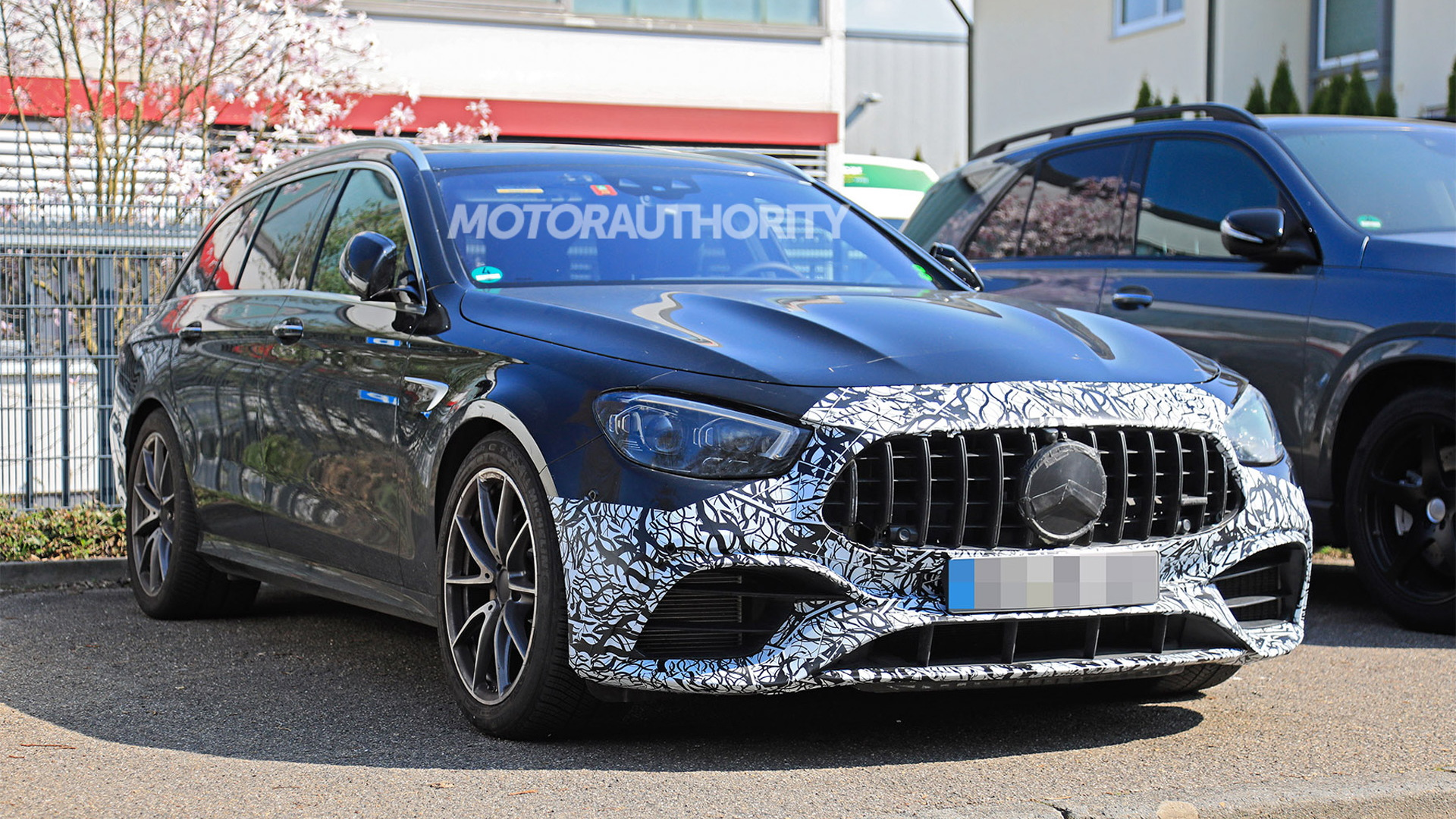 2021 Mercedes-AMG E63 Wagon spy shots - Photo credit: S. Baldauf/SB-Medien
