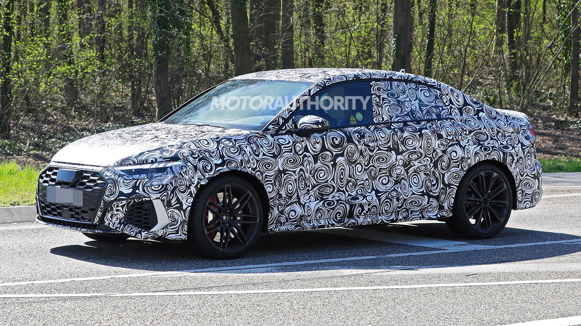2022 Audi RS 3 spy shots - Photo credit: S. Baldauf/SB-Medien