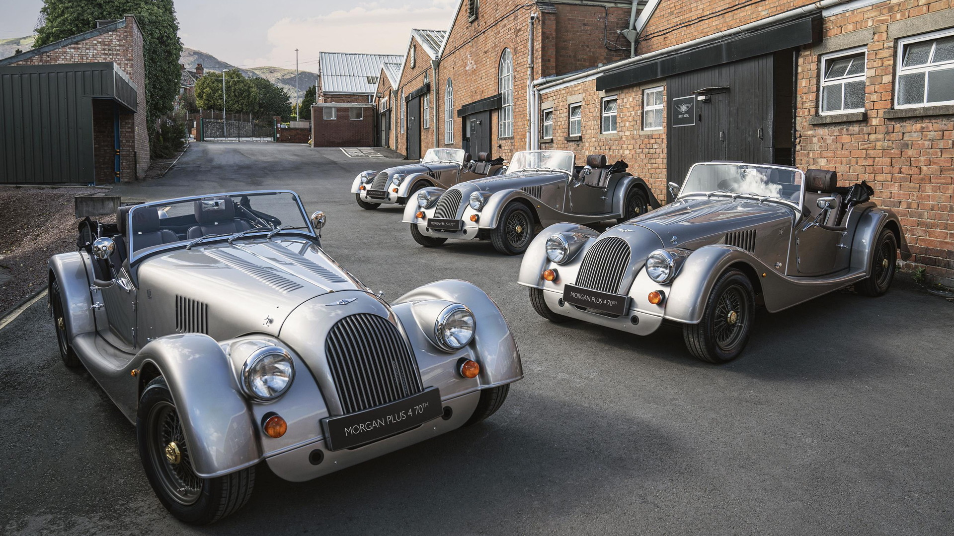 Morgan Plus 4 70th Anniversary Edition