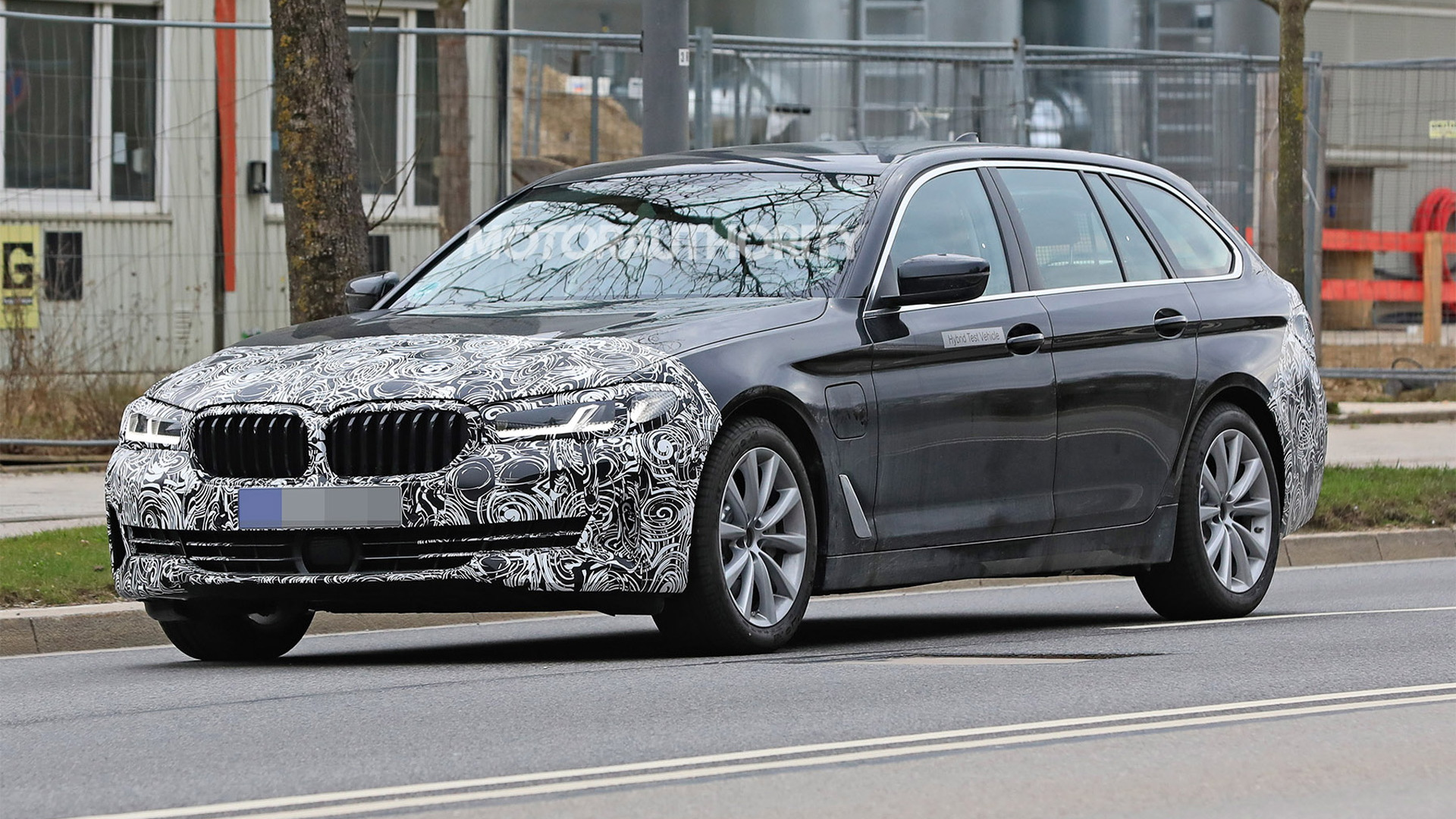 2021 Bmw 5 Series Touring Spy Shots And Video