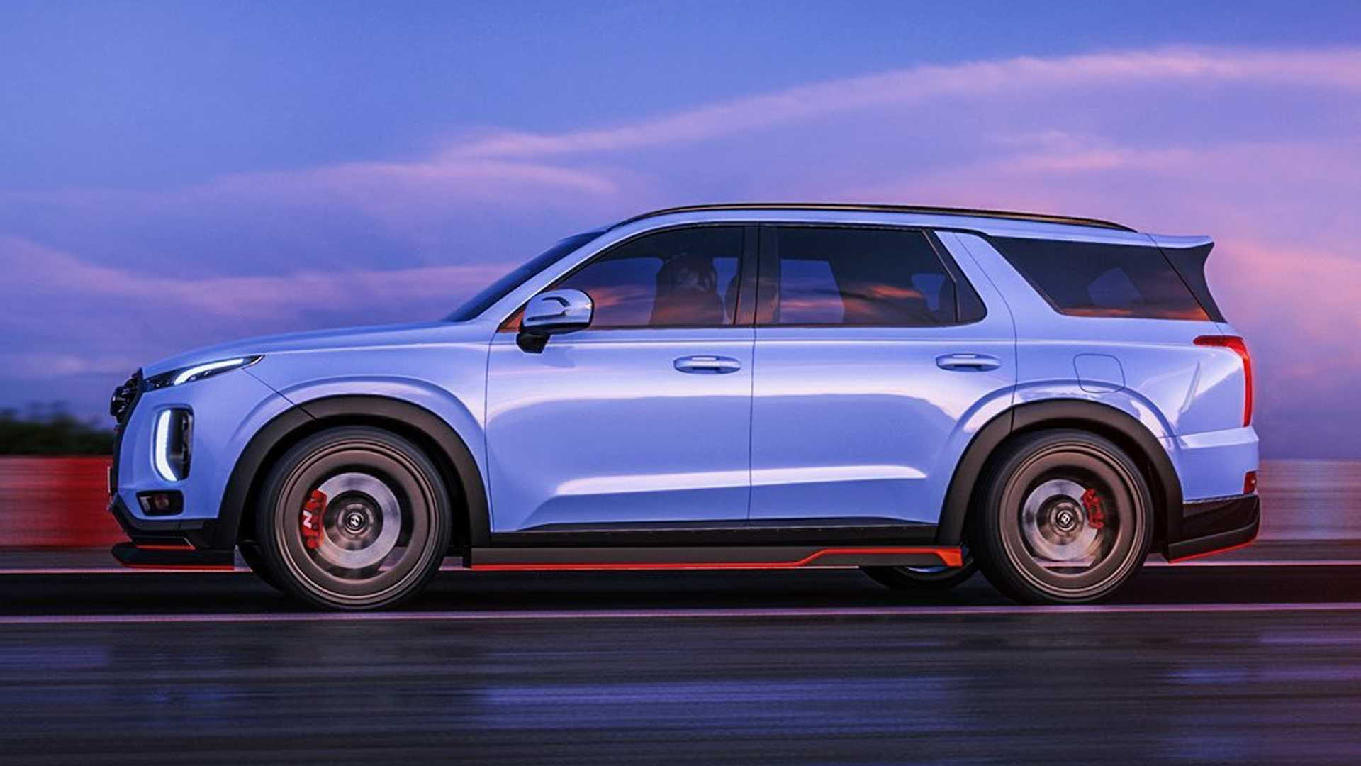 Hyundai Palisade N concept design