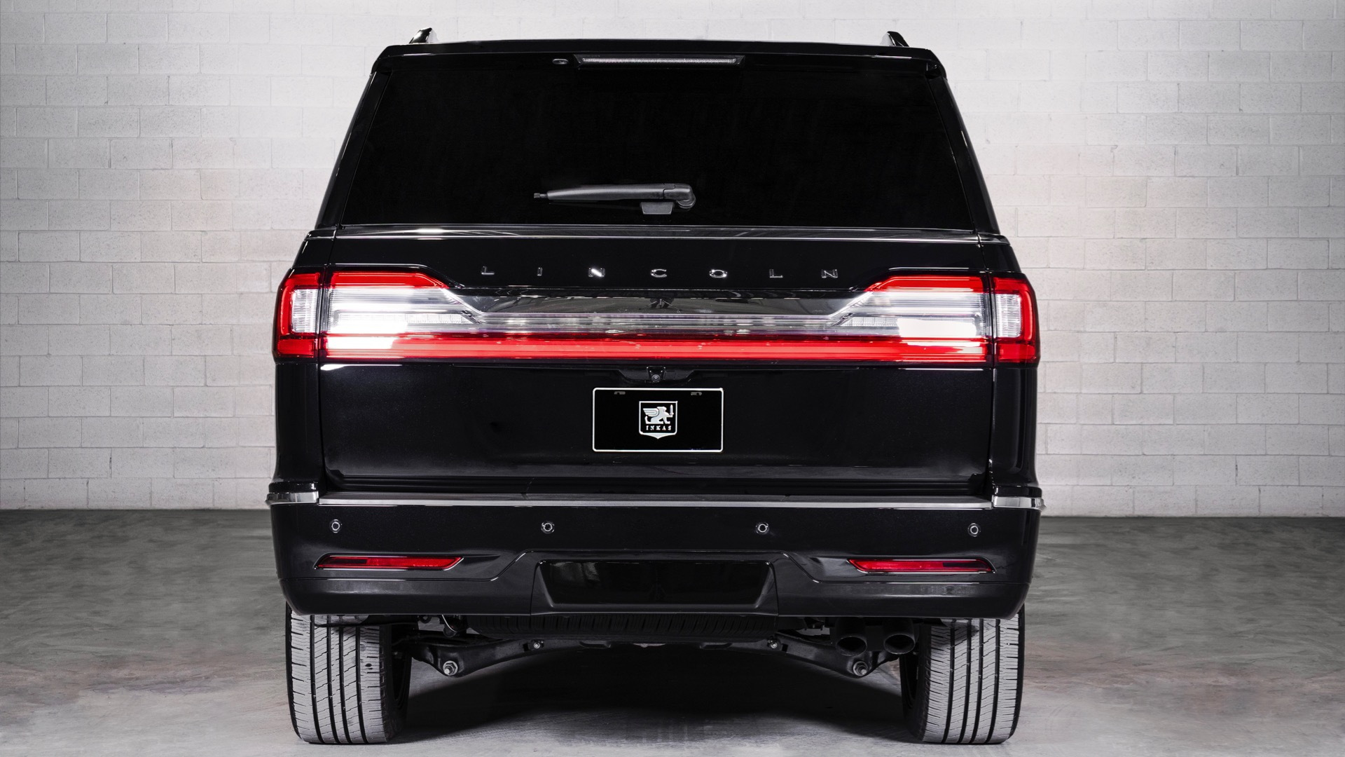 Armored 2020 Lincoln Navigator L by Inkas