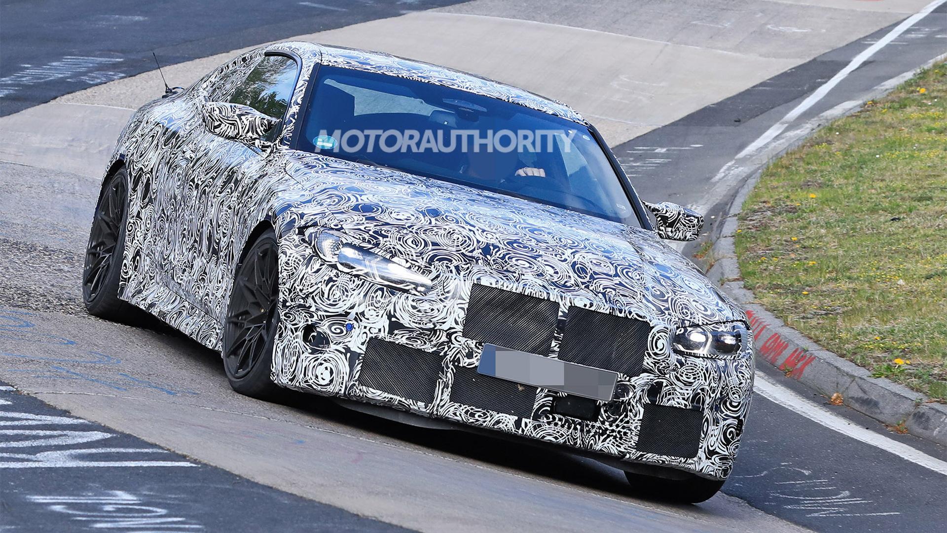 2021 BMW M4 spy shots - Photo credit: S. Baldauf/SB-Medien