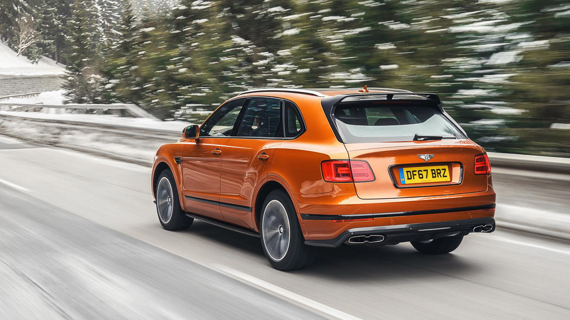 2020 Bentley Bentayga Styling Specification