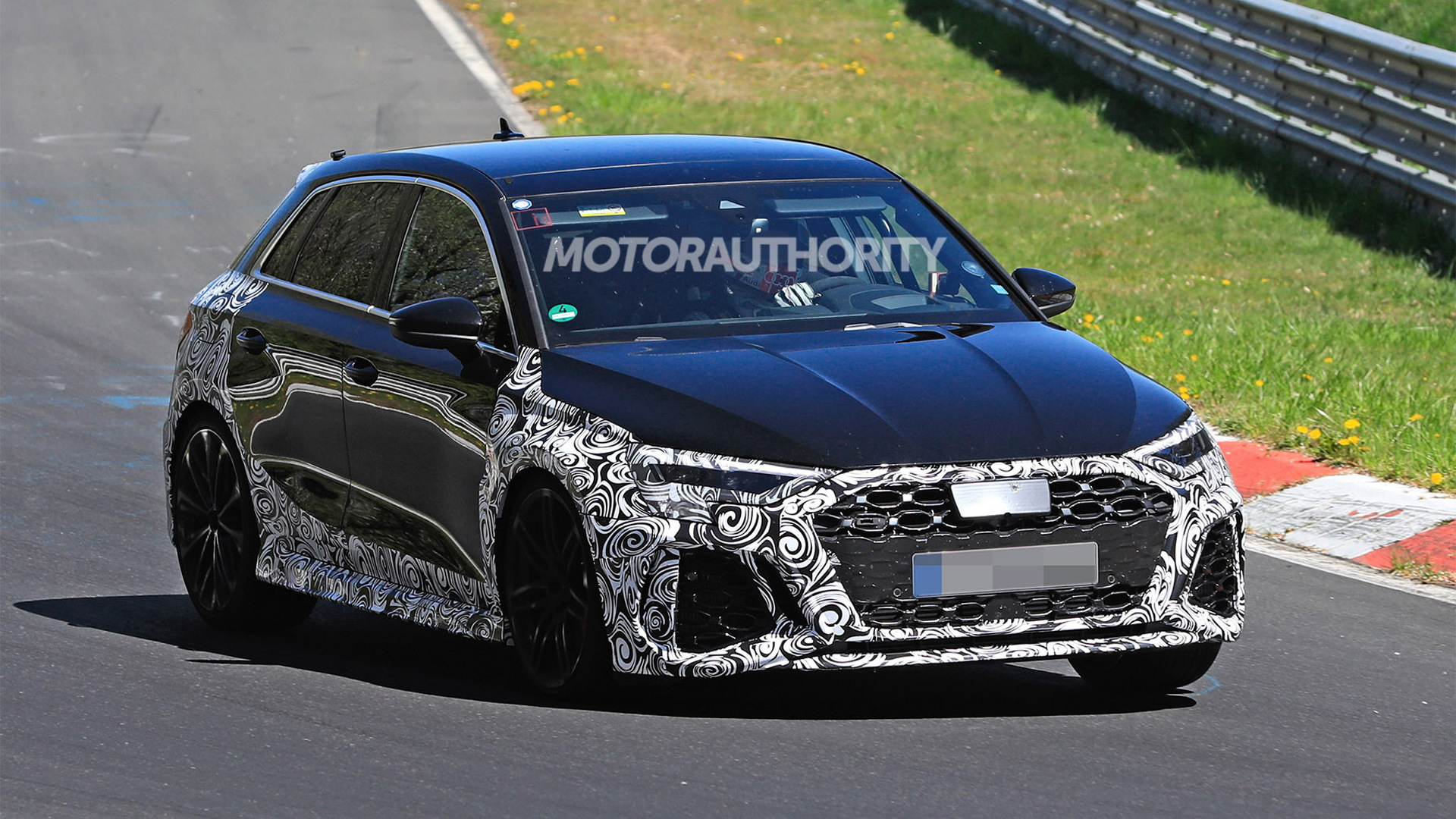 2022 Audi RS 3 Sportback spy shots - Photo credit: S. Baldauf/SB-Medien
