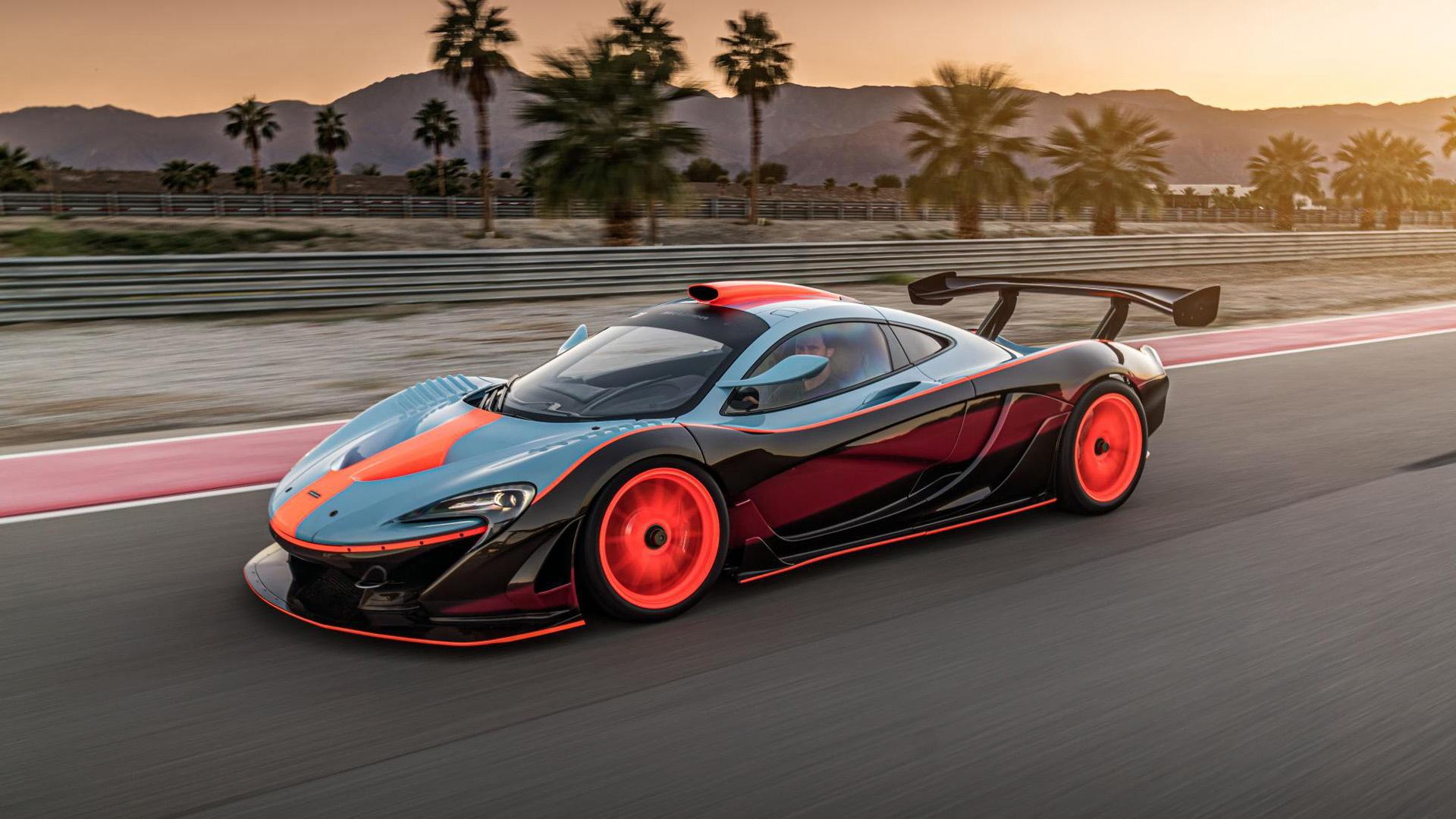 McLaren P1 GTR-18 by Lanzante
