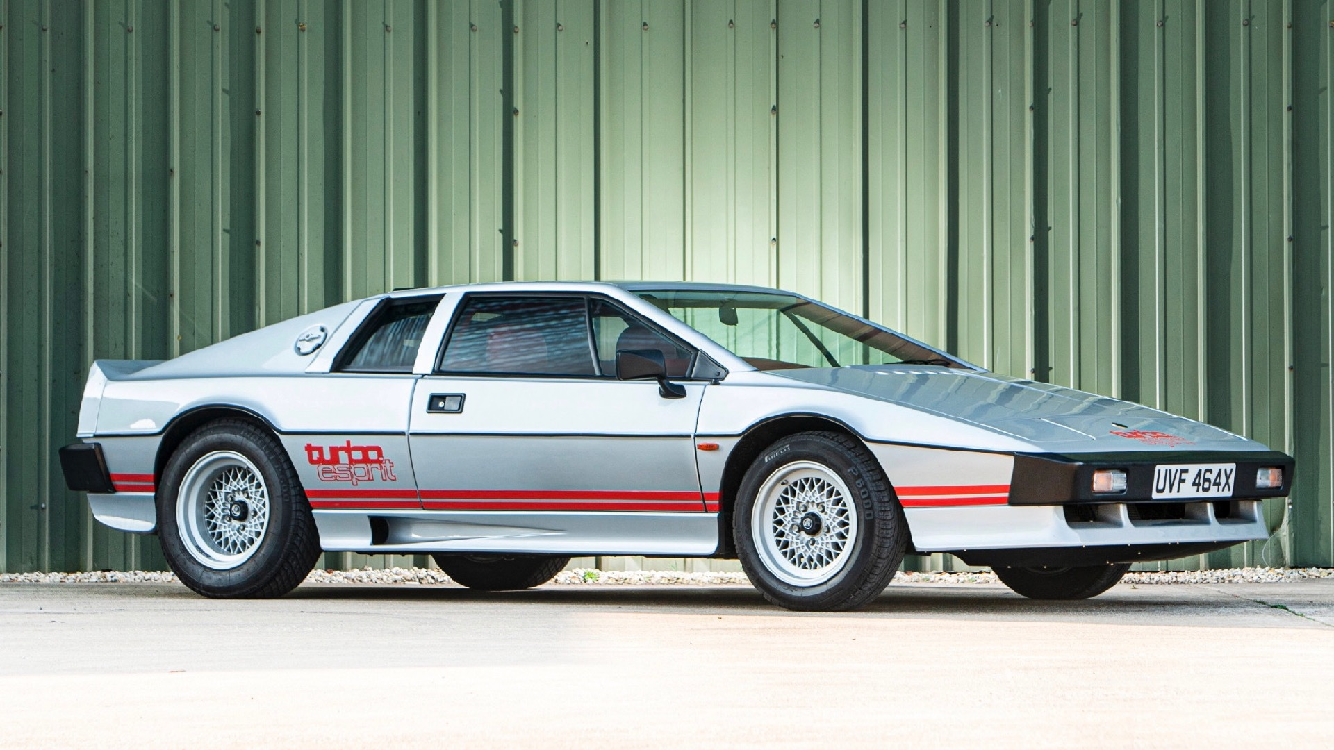 1981 Lotus Esprit Turbo owned by Colin Chapman (Photo by Mark Donaldson)