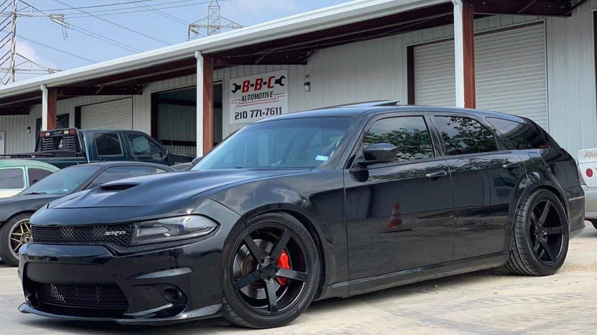 Tuning firm plans modern Dodge Magnum SRT Hellcat Widebody
