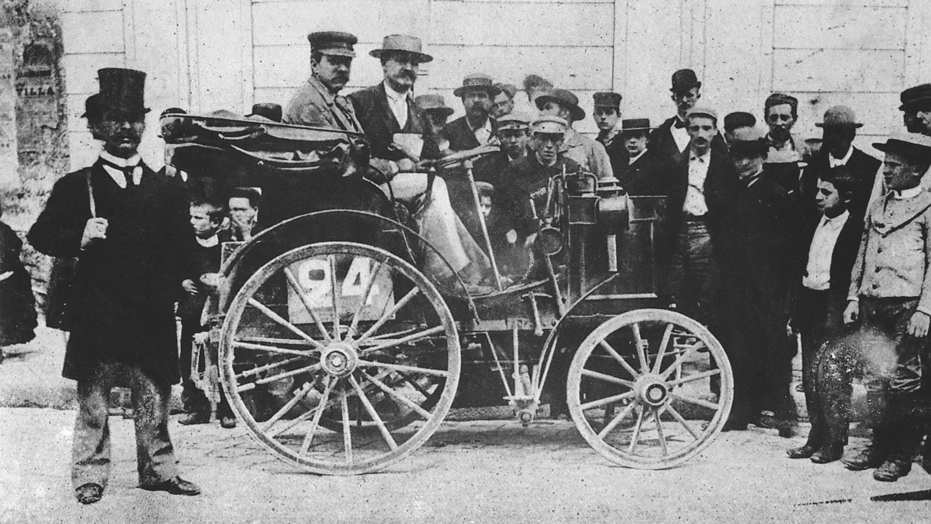 Panhard et Levassor at 1894 Paris to Rouen race