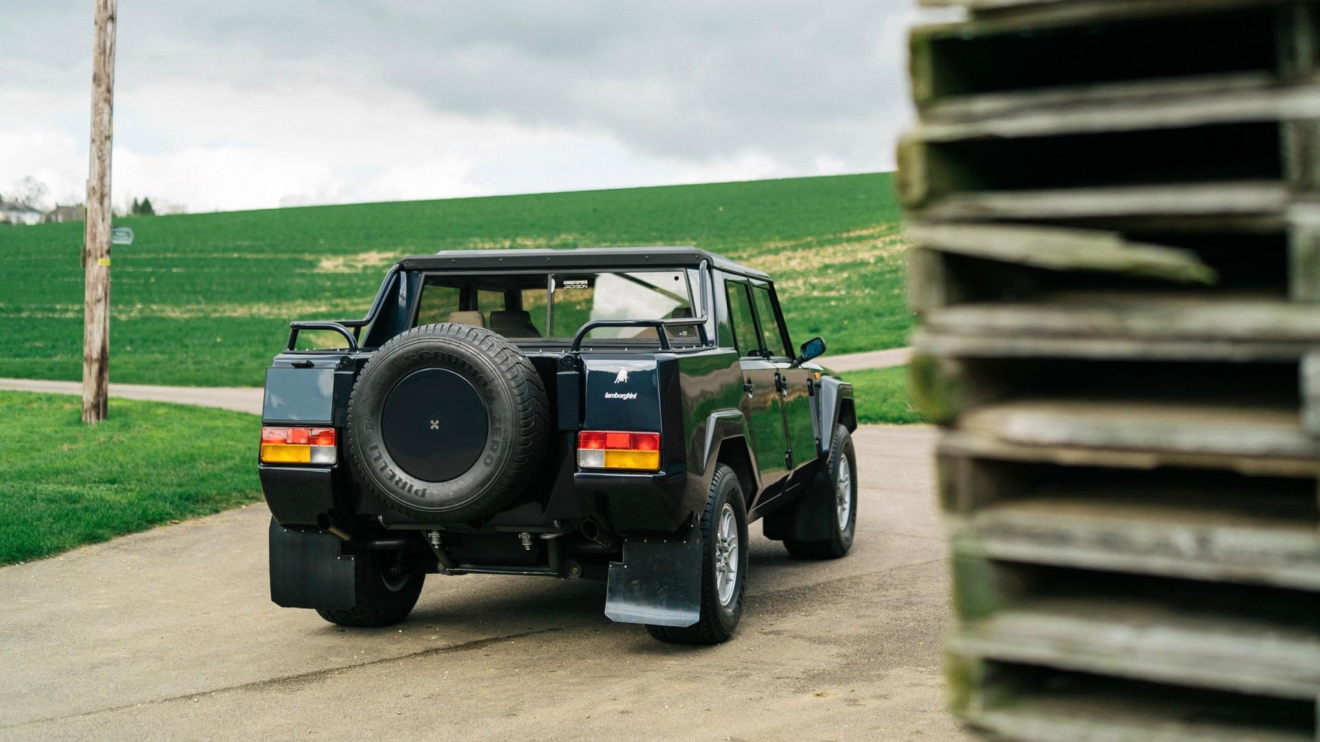 1987 Lamborghini LM002 restored by Bell Sport & Classic