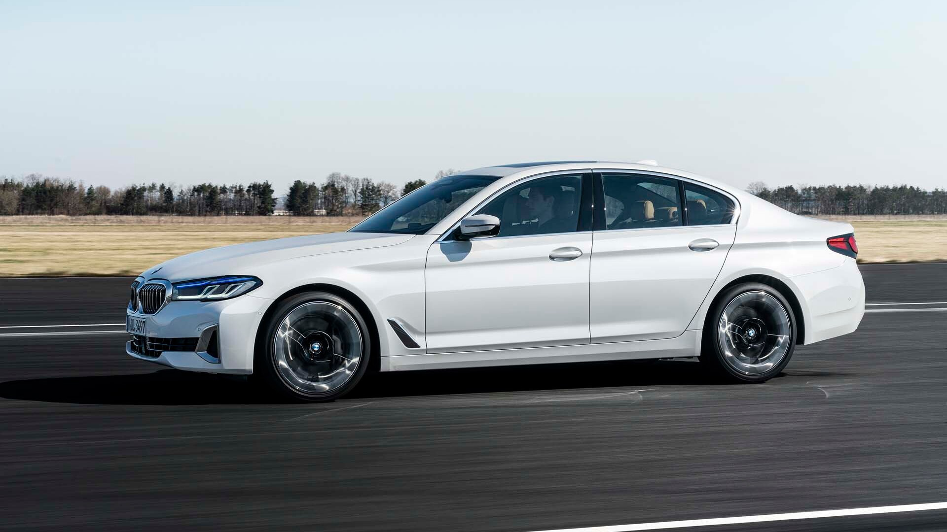 updated 2021 bmw 5series luxury sedan pushes deeper into