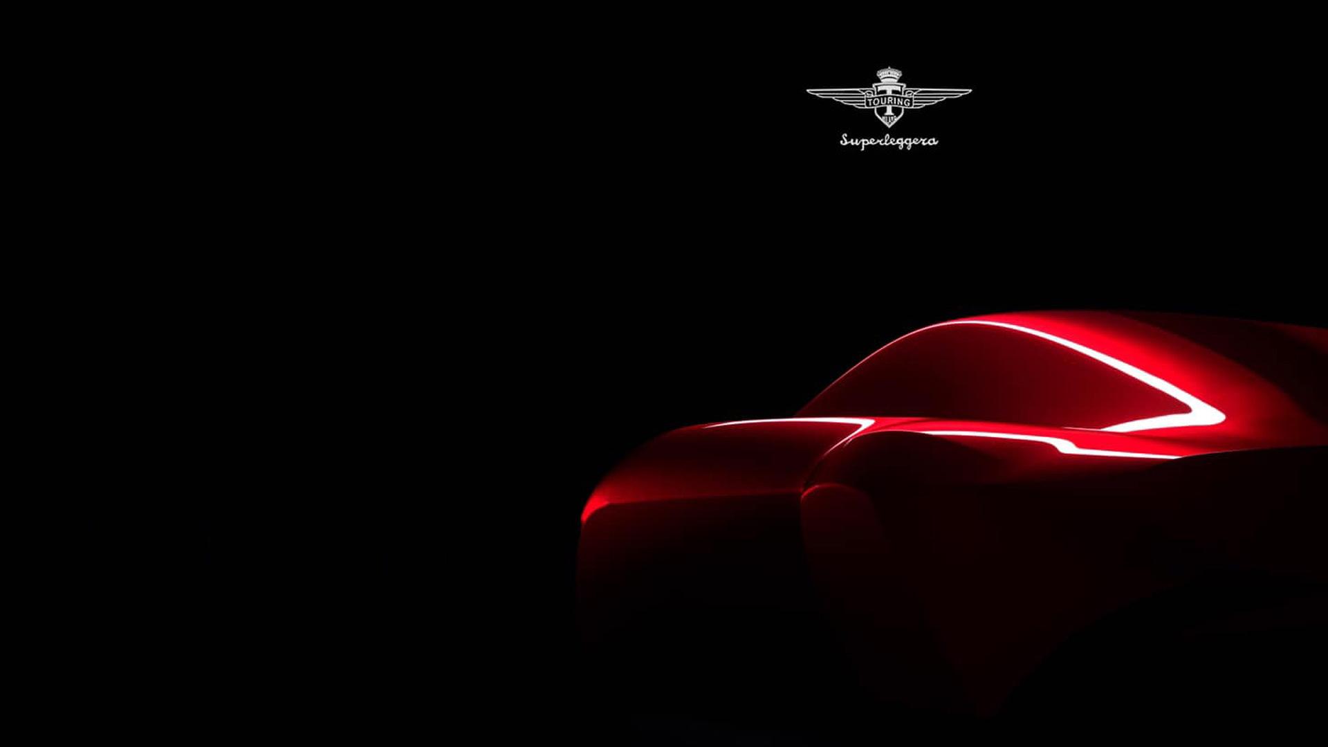 Teaser for Touring Berlinetta Aero