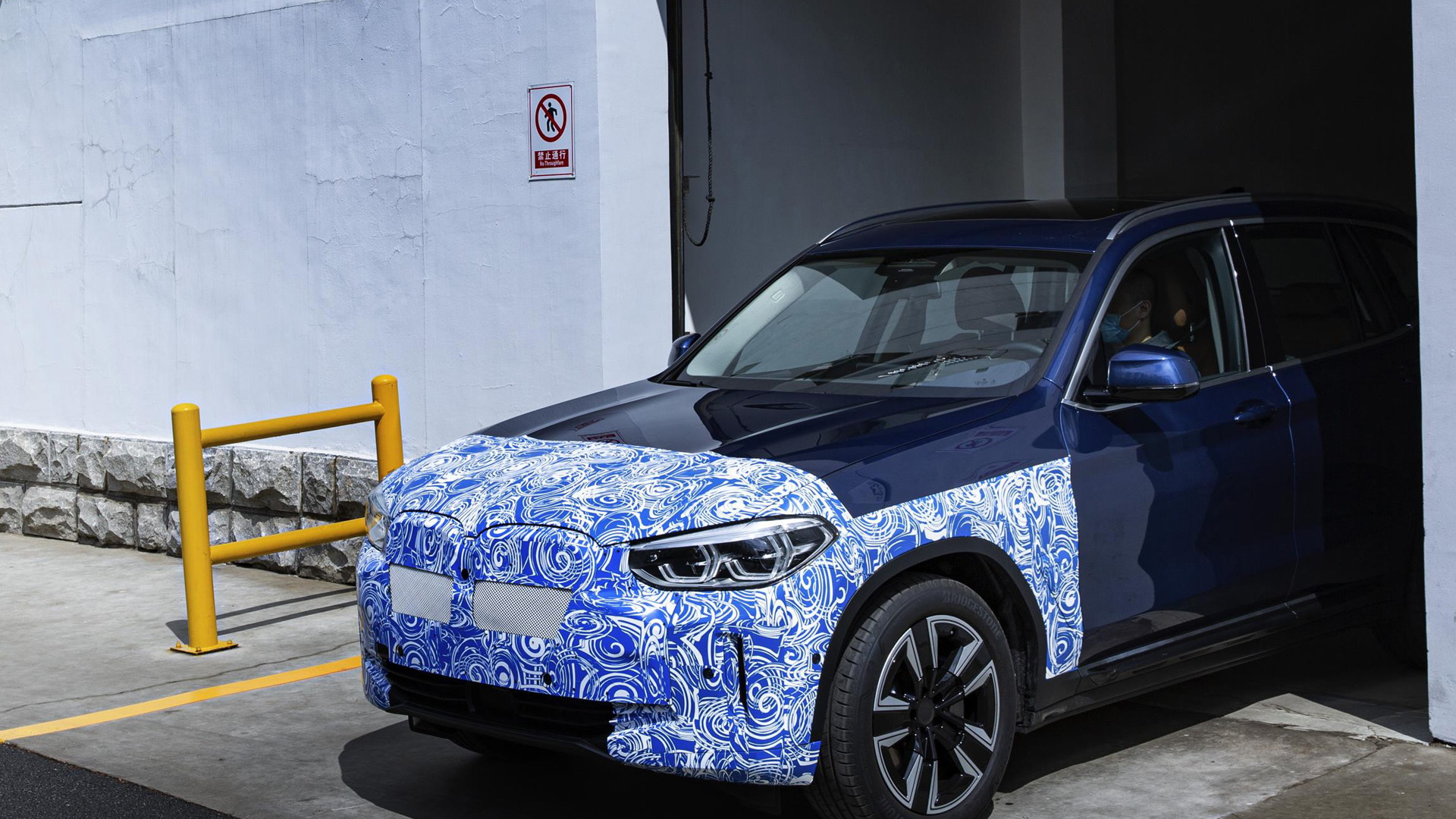 2021 BMW iX3 pre-production