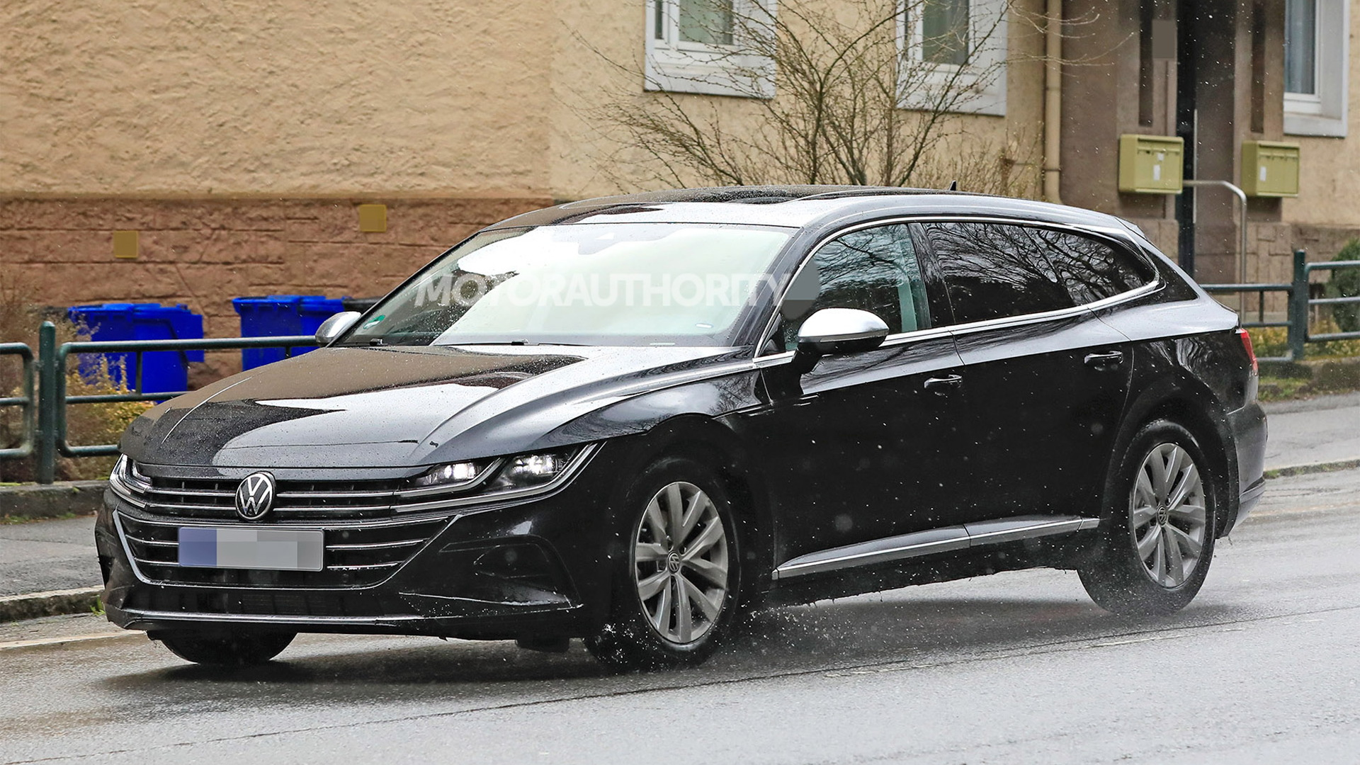 2021 Volkswagen Arteon Shooting Brake spy shots - Photo credit: S. Baldauf/SB-Medien
