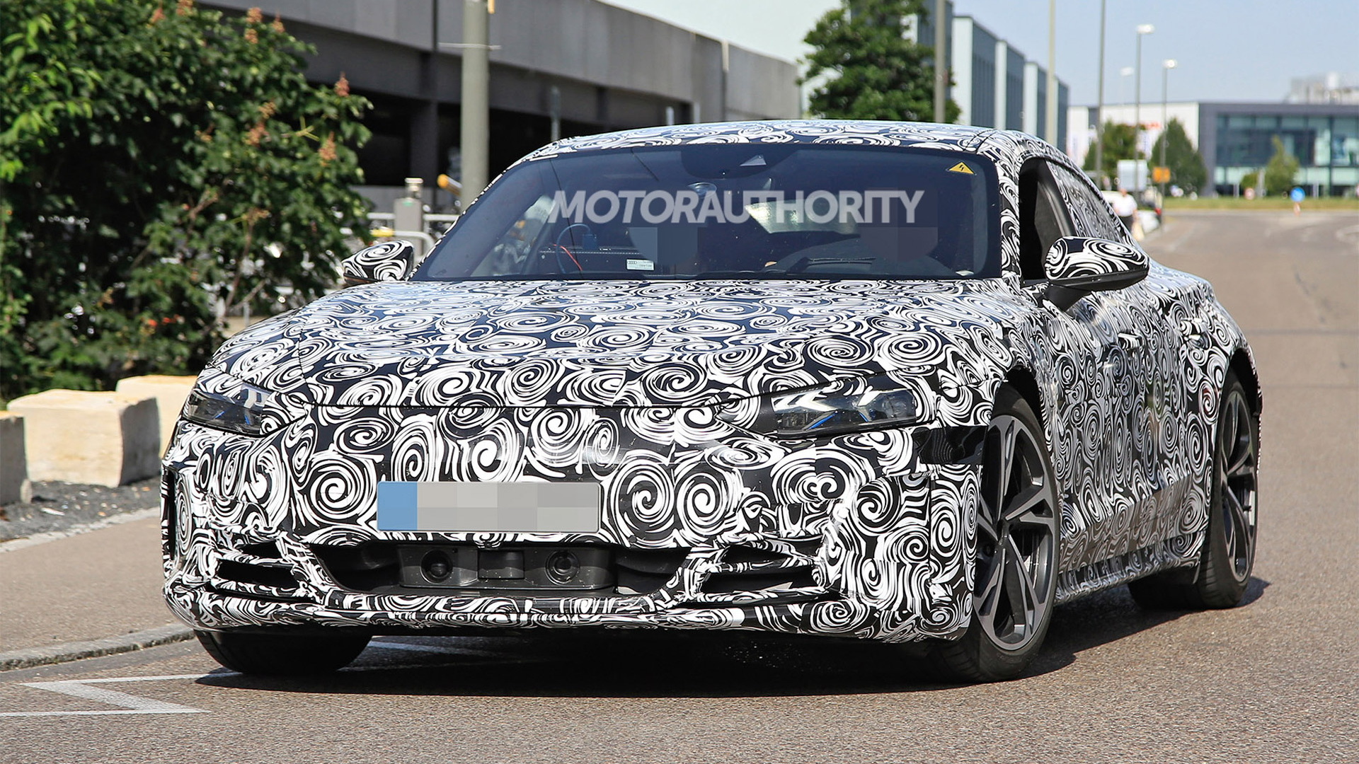 2022 Audi E-Tron GT spy shots - Photo credit: S. Baldauf/SB-Medien