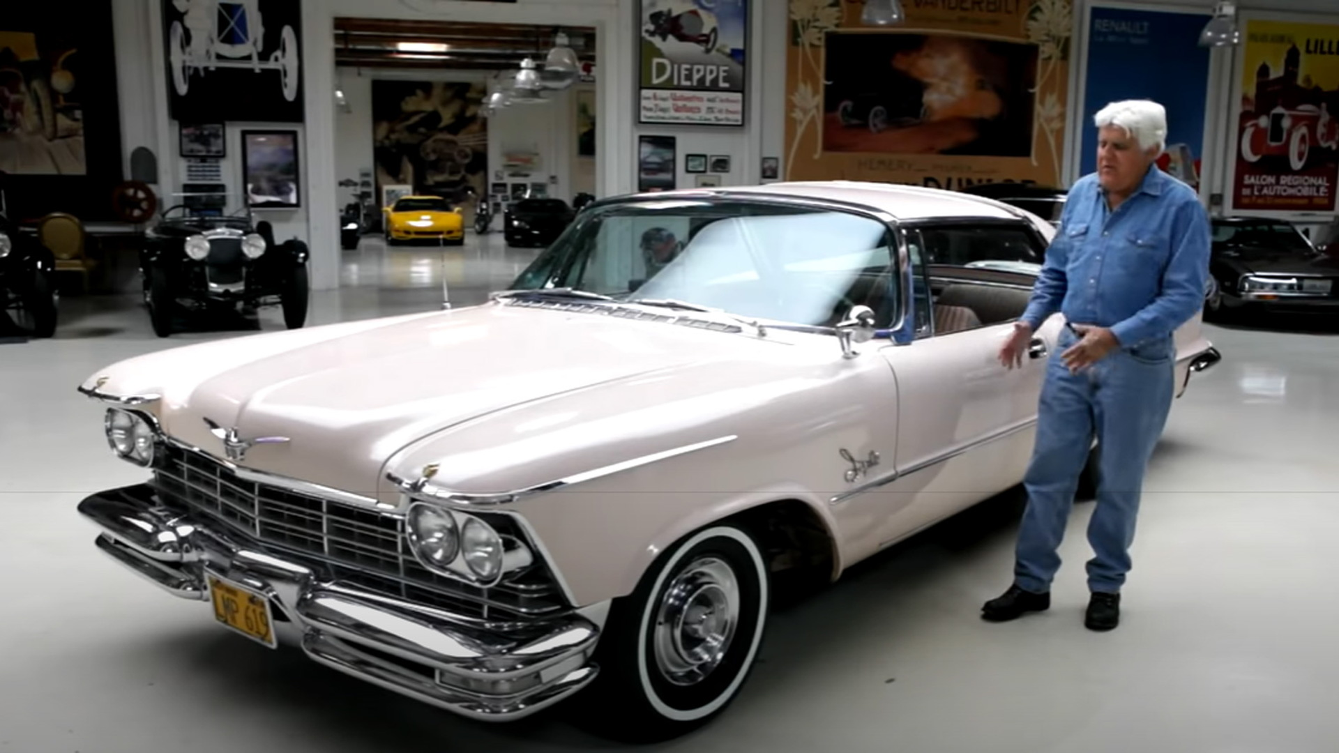 Jay Leno and his 1957 Imperial