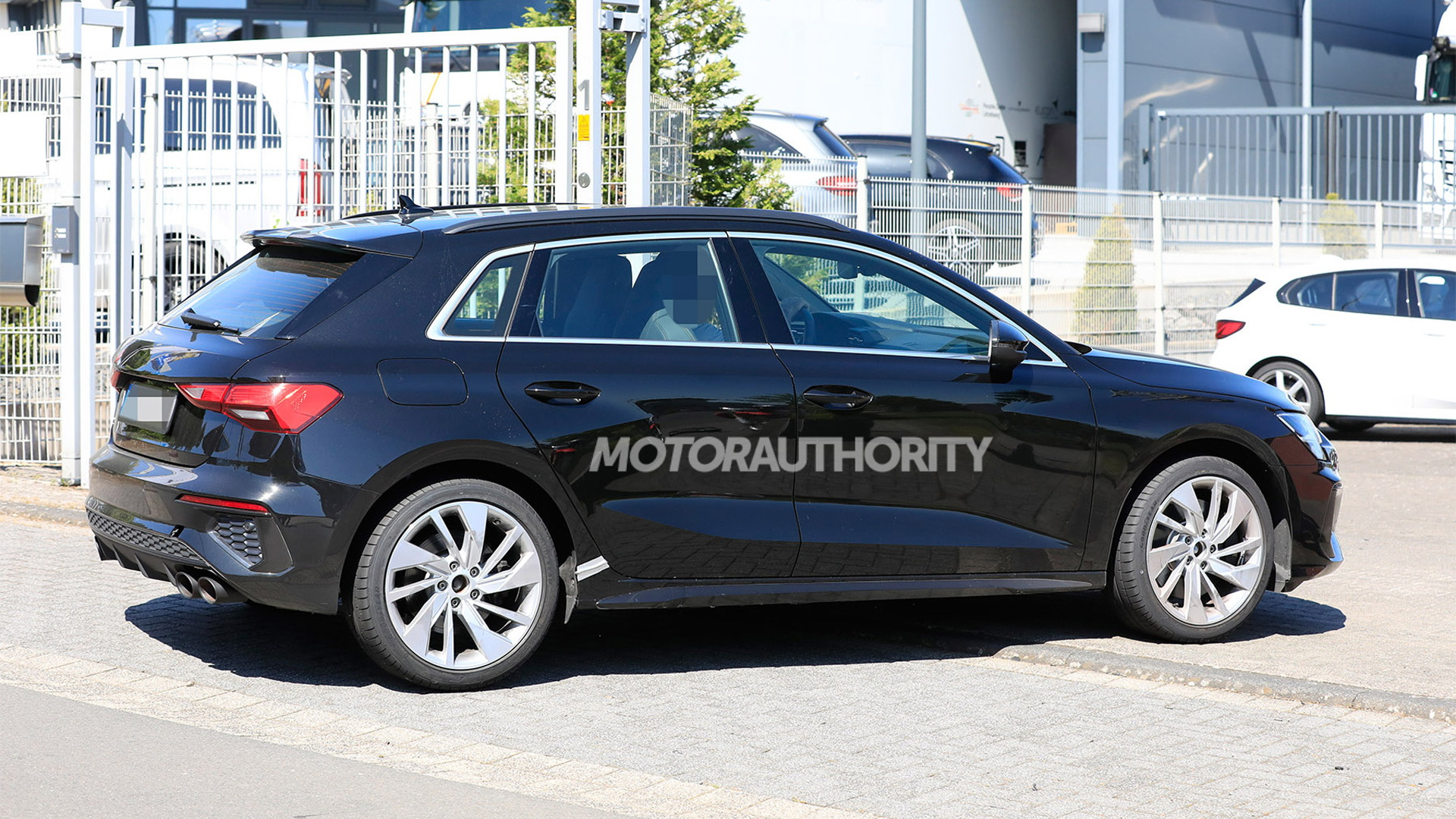 2022 Audi S3 Sportback spy shots - Photo credit: S. Baldauf/SB-Medien