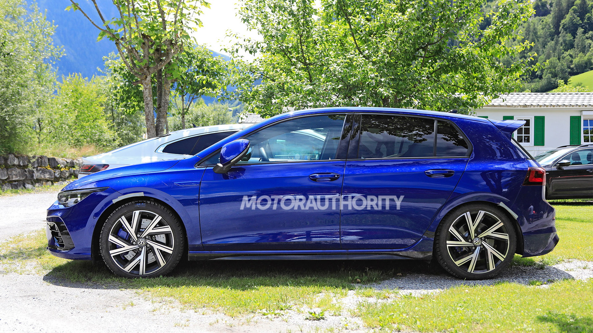 2022 Volkswagen Golf R spy shots - Photo credit: S. Baldauf/SB-Medien