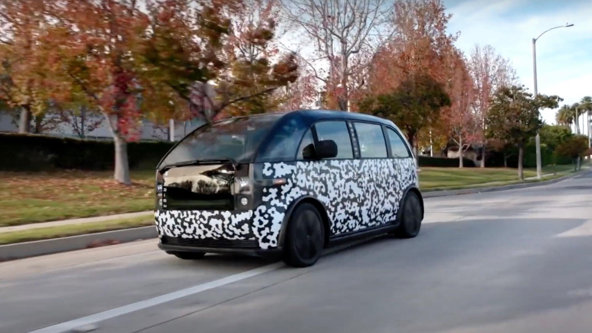 Canoo electric car on Jay Leno's Garage