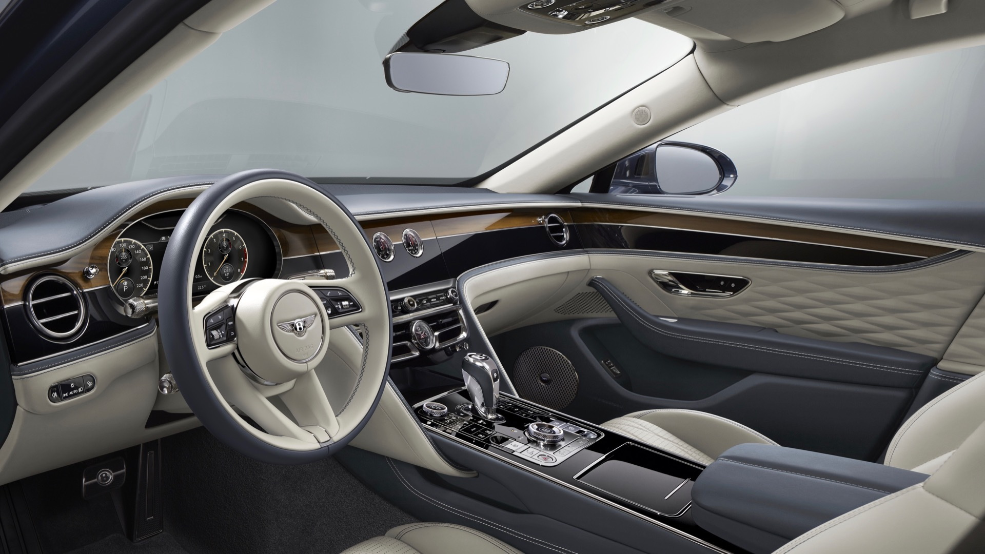 Bentley Flying Spur gets new color and trim options, built-in ...