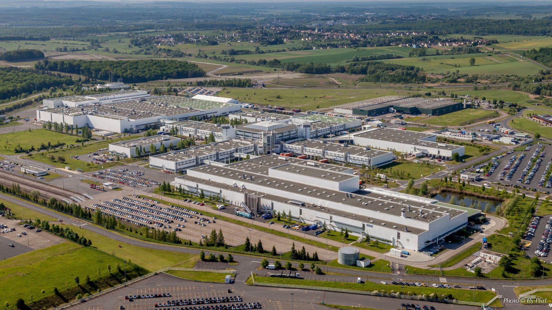 Daimler Hambach factory