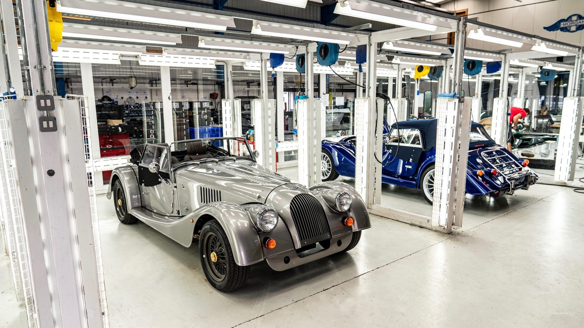Last steel-chassis Morgan