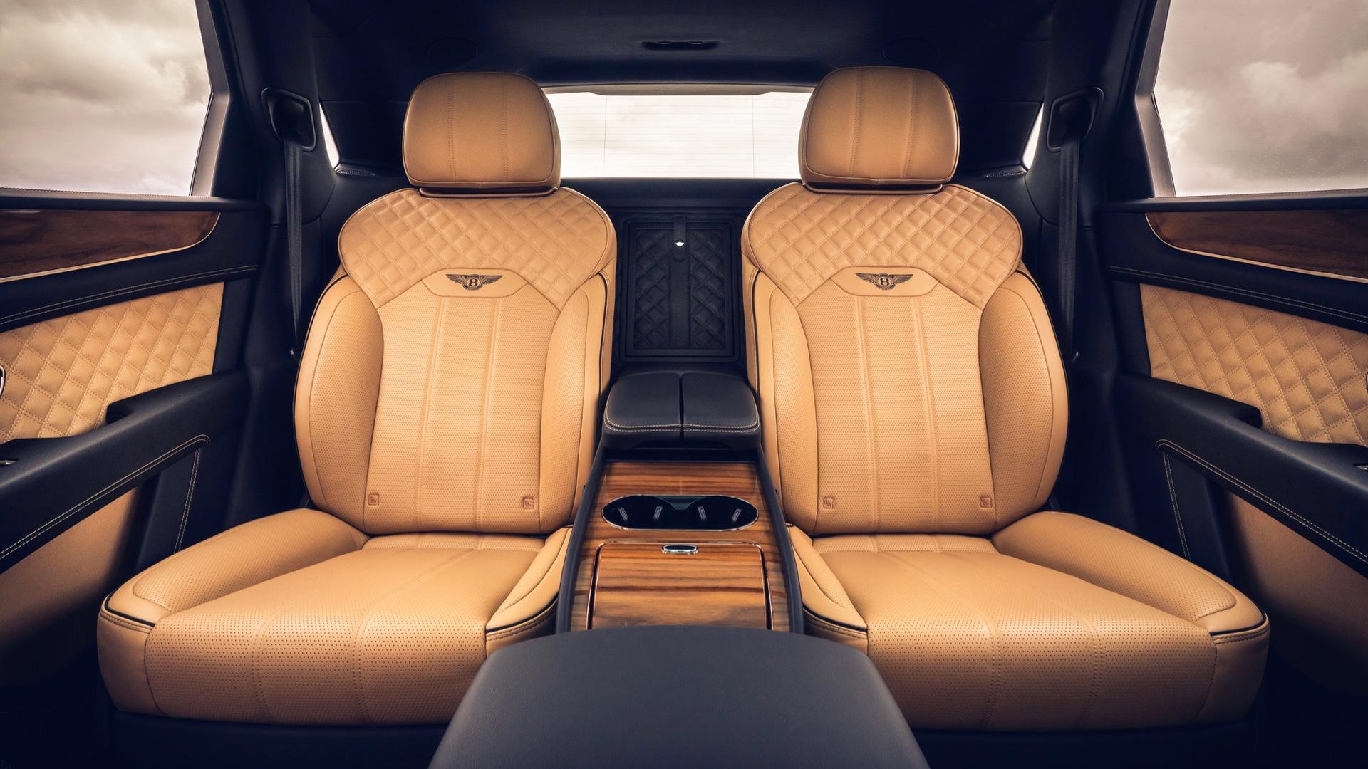 2021 Bentley Bentayga Four Seat Option Detailed