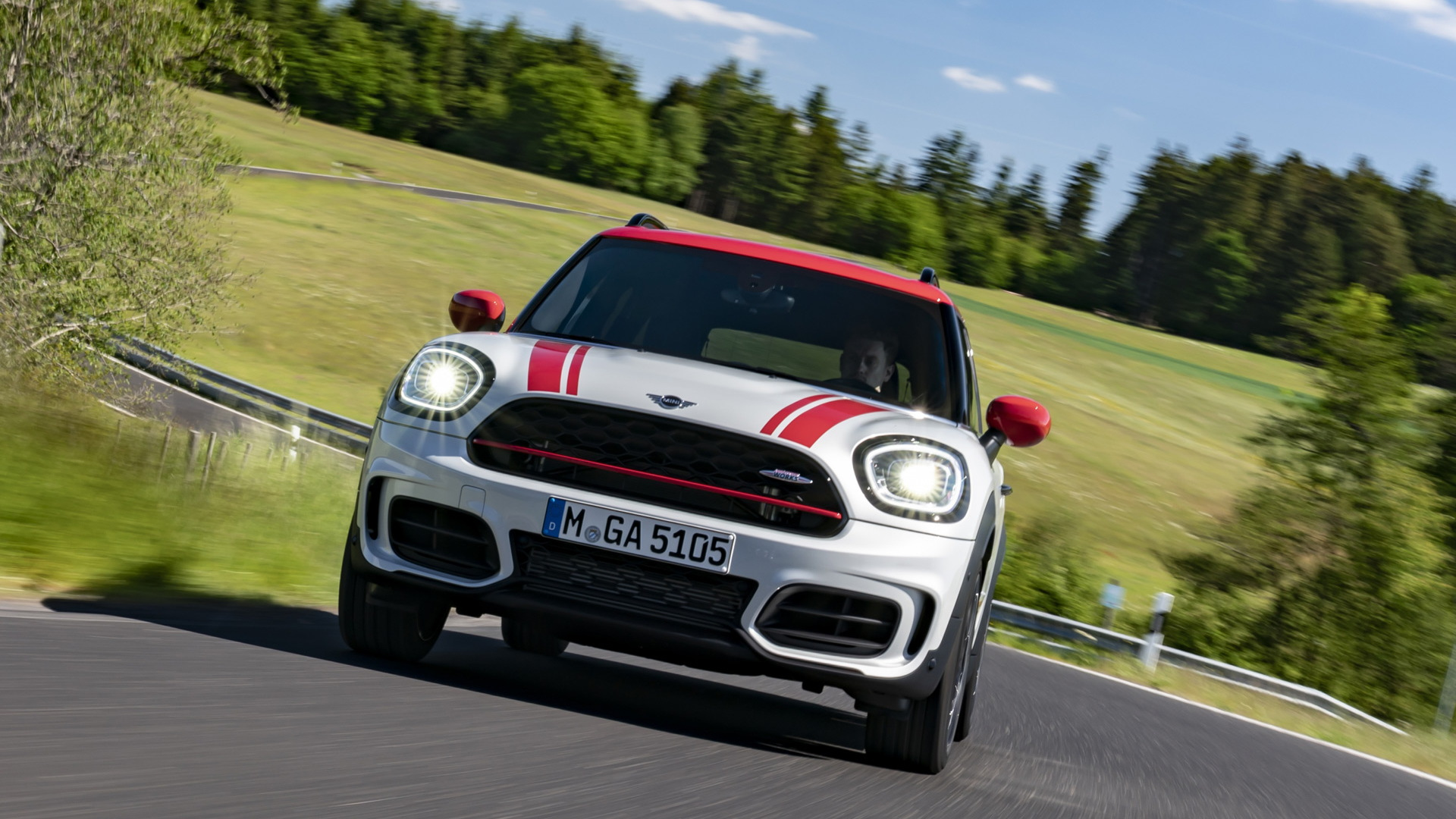 Mini John Cooper Works Countryman arrives with revised styling