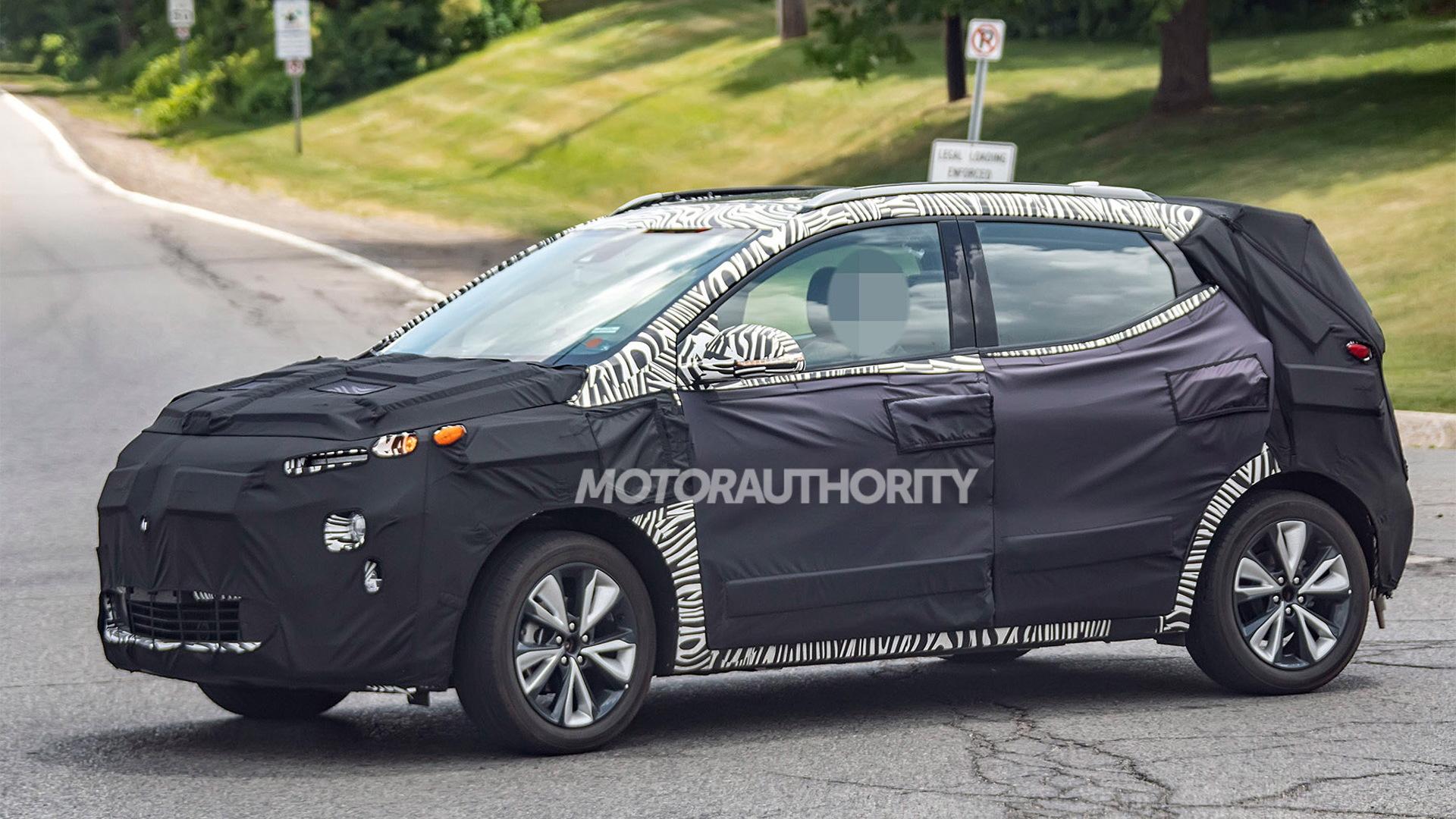 2022 Chevrolet Bolt Euv Spy Shots And Video