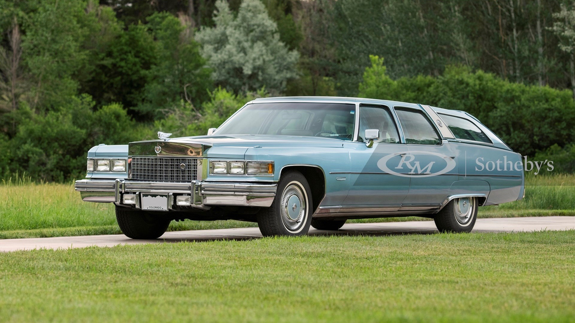 1976 Cadillac Castillian Fleetwood Estate Wagon (photo by RM Sotheby's)