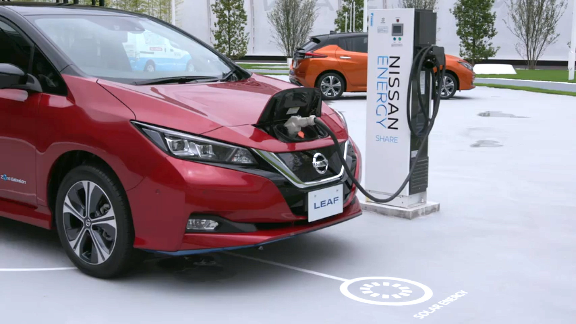 Nissan Energy Share with Nissan Leaf