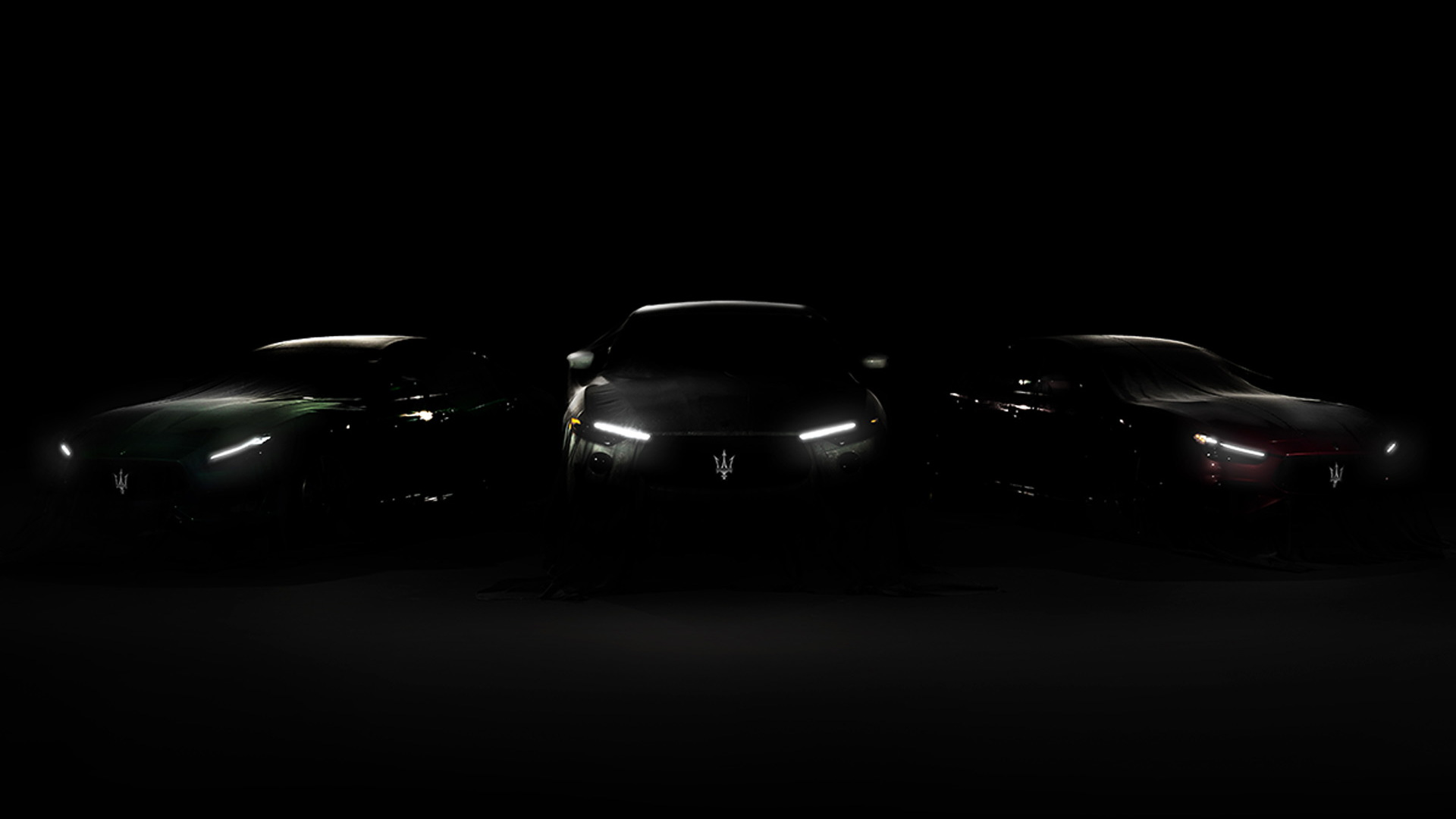 Teaser for 2021 Maserati Trofeo lineup debuting August 10, 2020