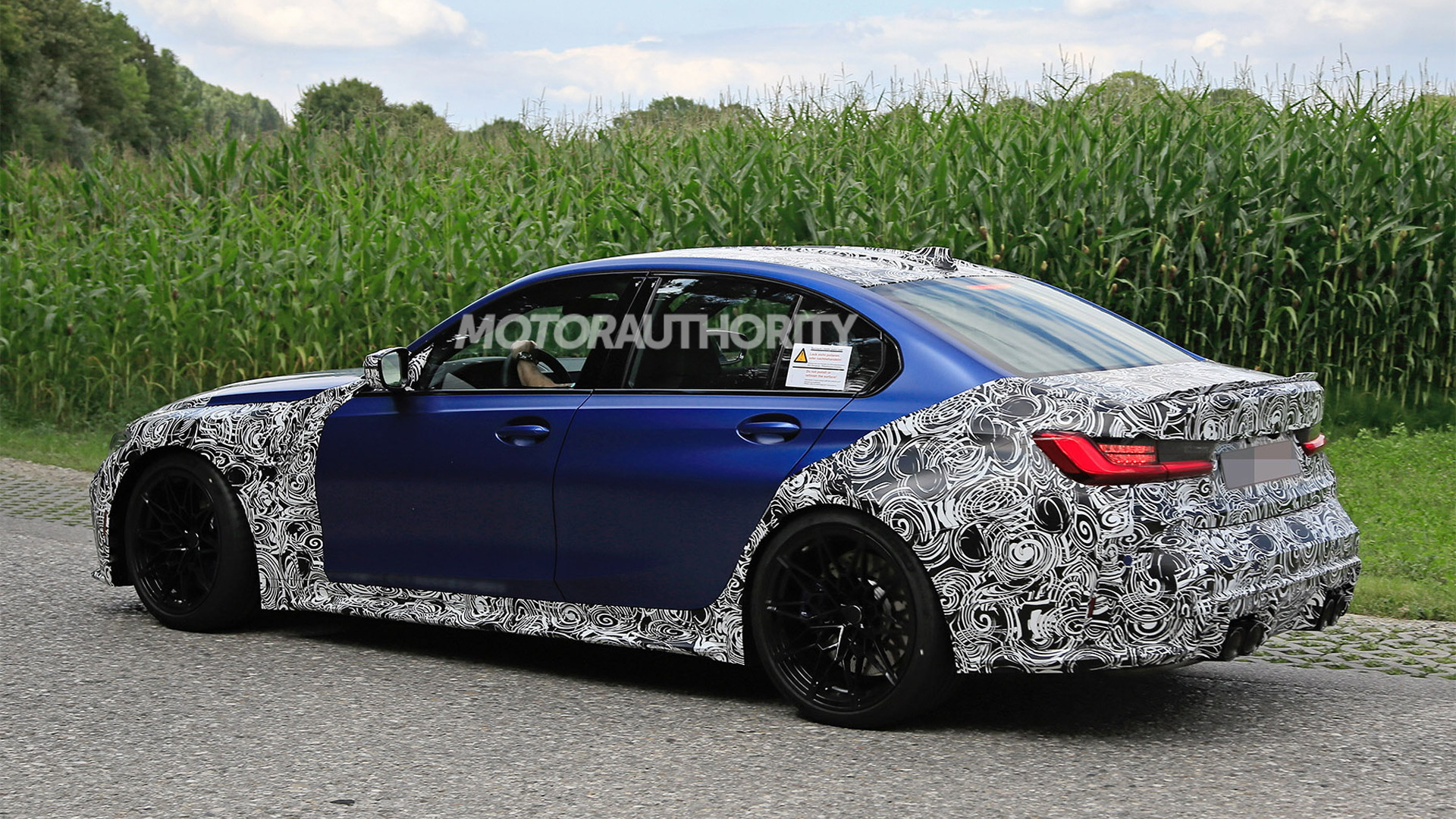 2021 BMW M3 spy shots - Photo credit: S. Baldauf/SB-Medien