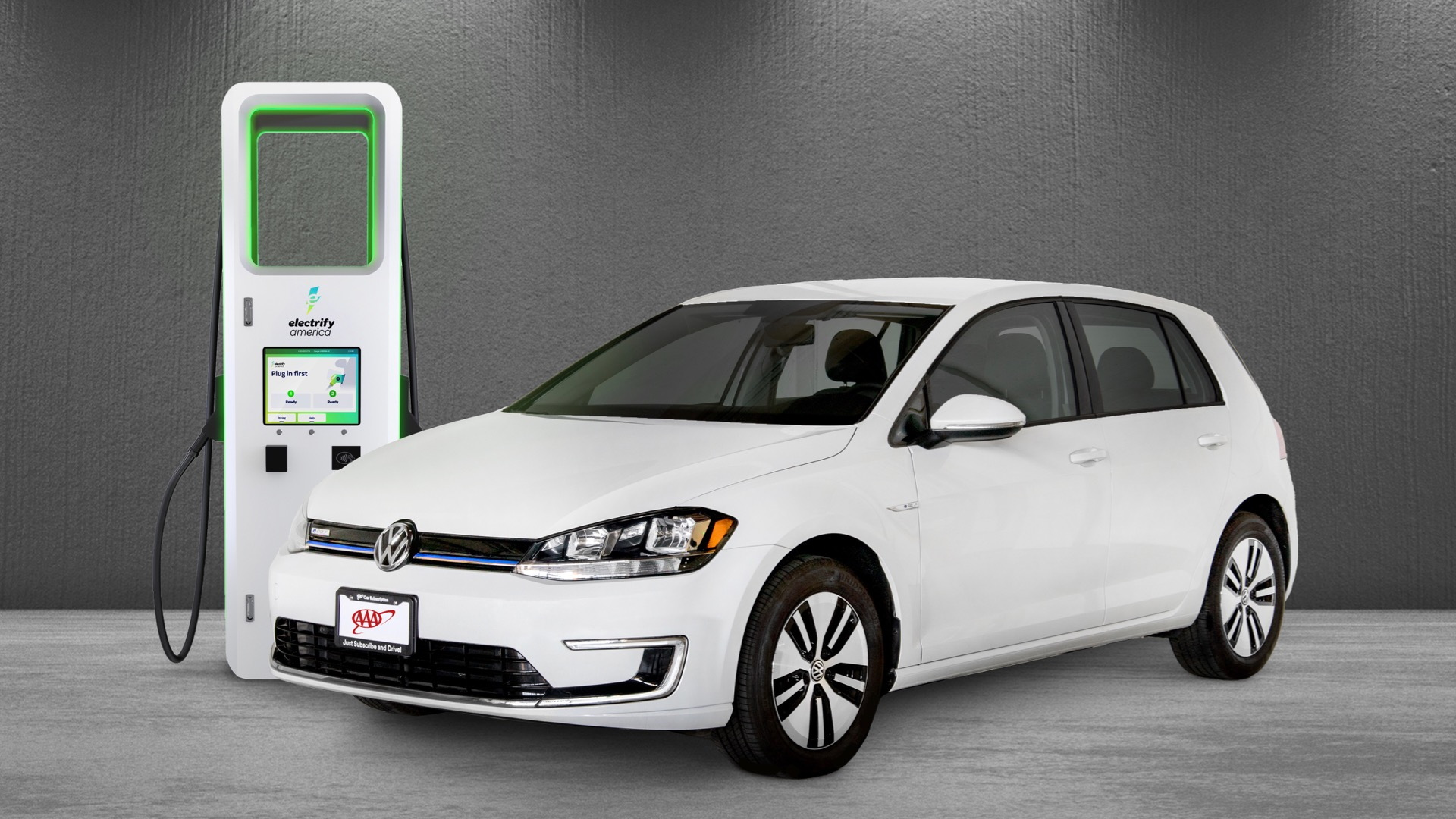 Electrify America and AAA subscription service