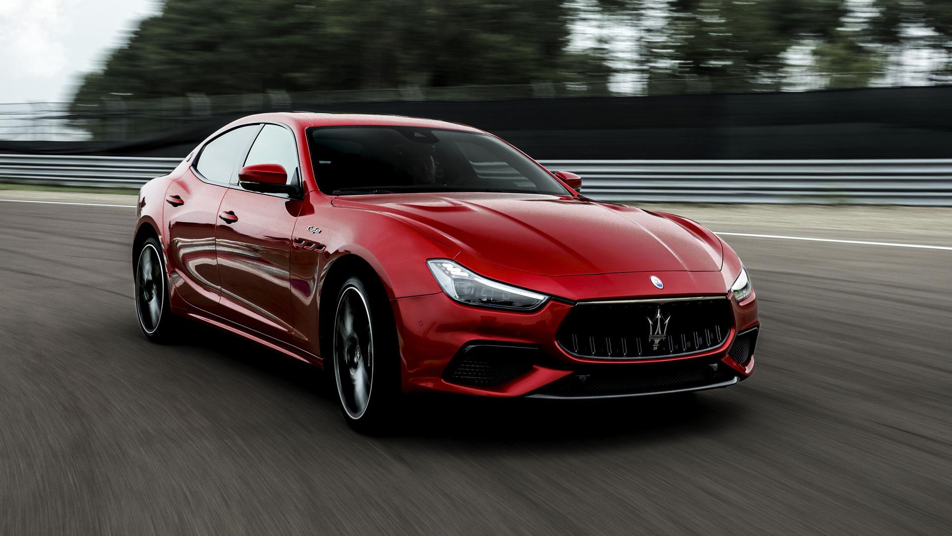 Hardcore Trofeo versions of Maserati Ghibli, Quattroporte ...