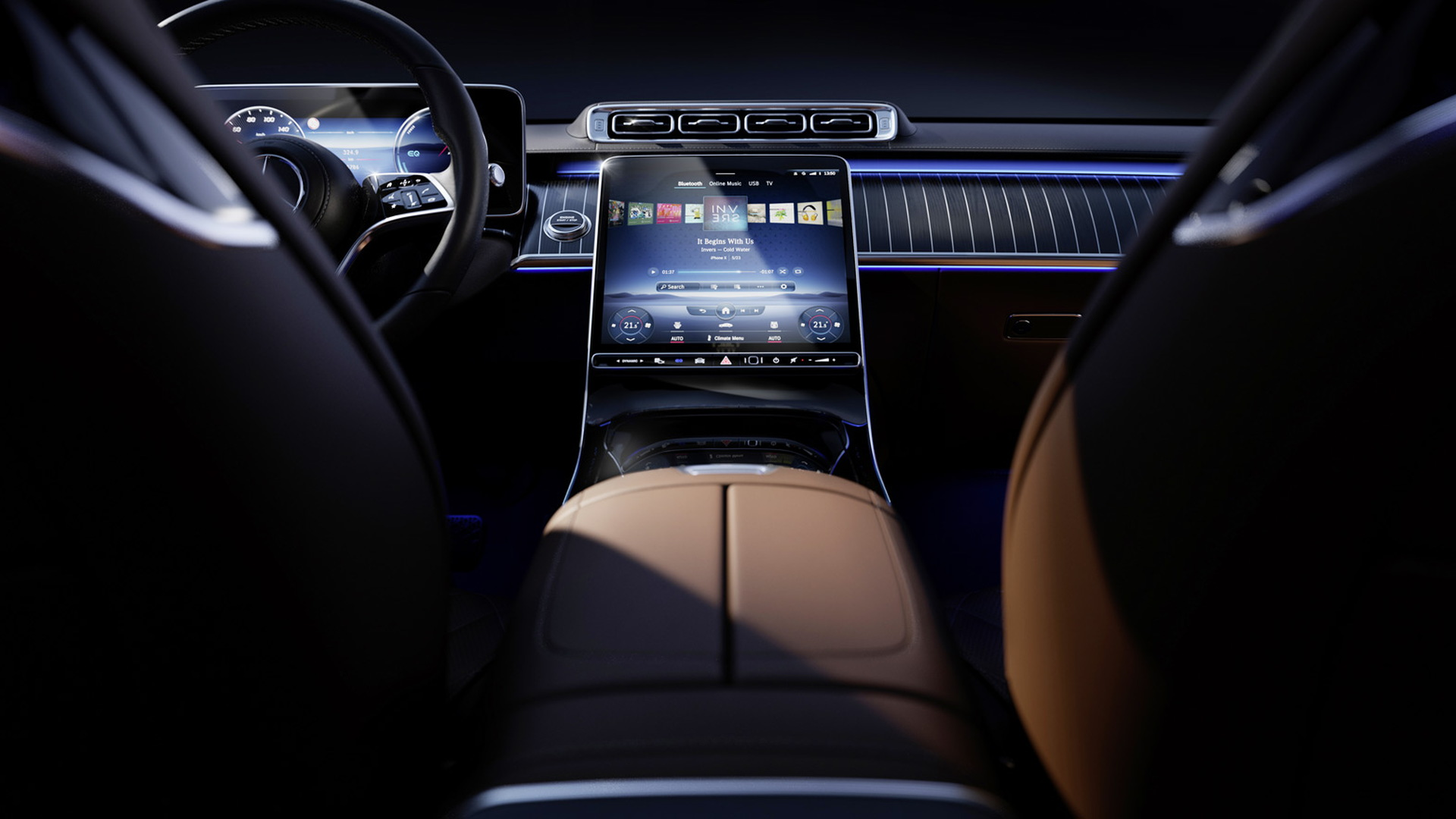 New Mercedes-Benz S-Class' interior