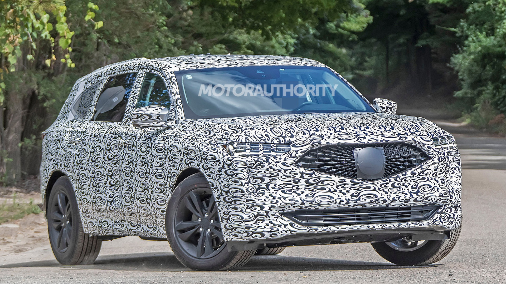 2021 Acura MDX spy shots - Photo credit: S. Baldauf/SB-Medien