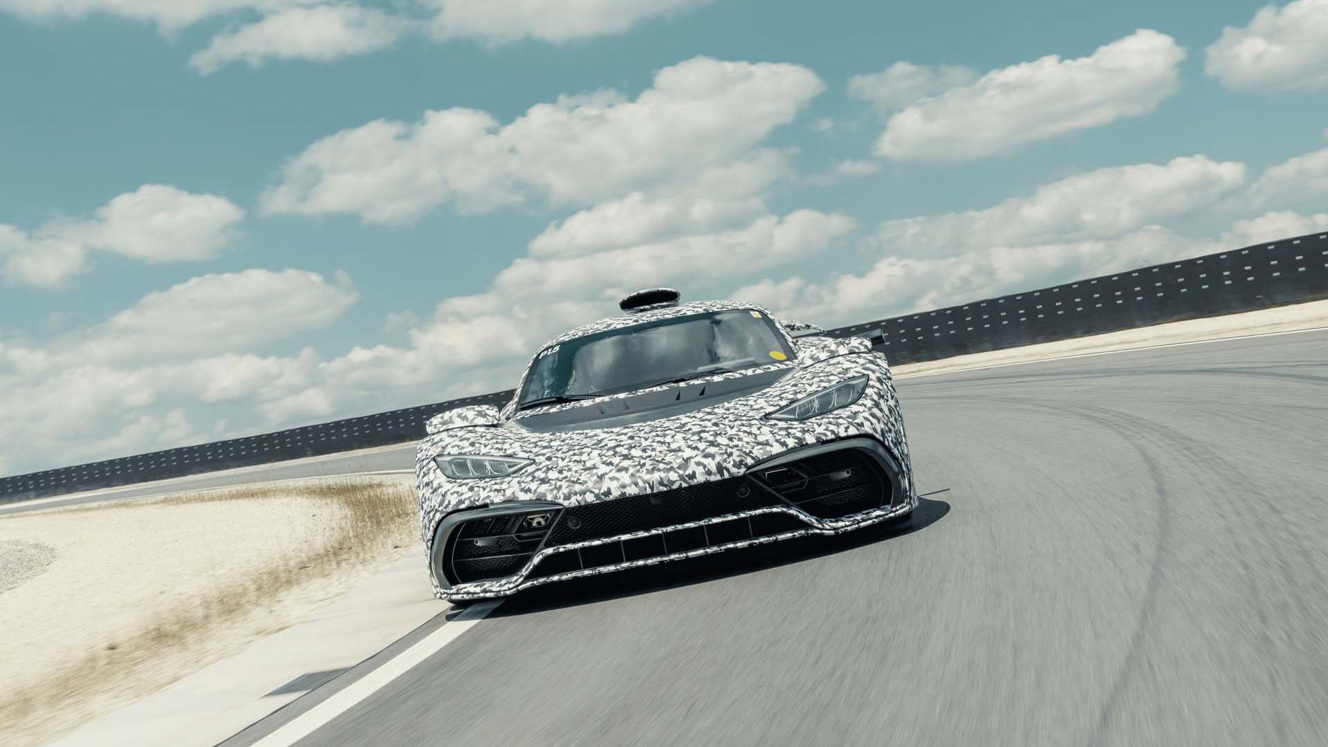 Mercedes-Benz AMG One prototype