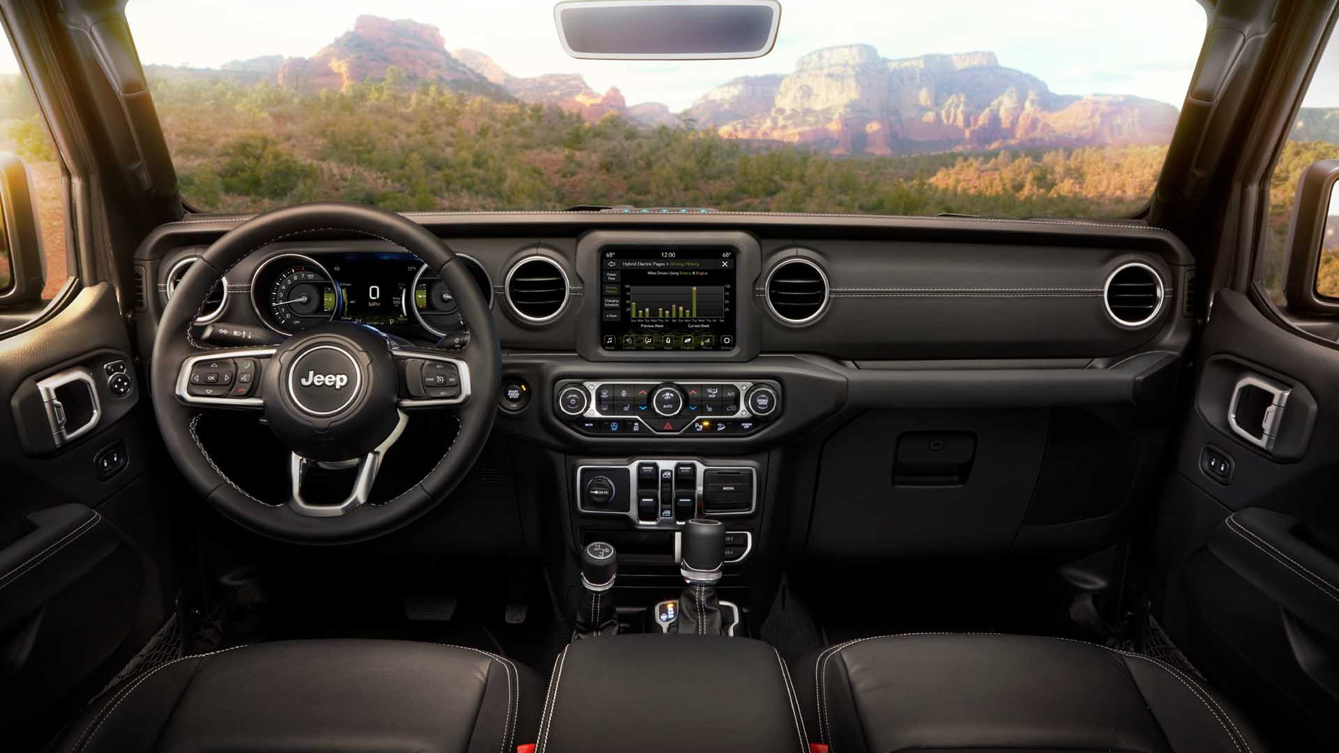 2021 jeep wrangler 4xe plugin hybrid suv revealed strong