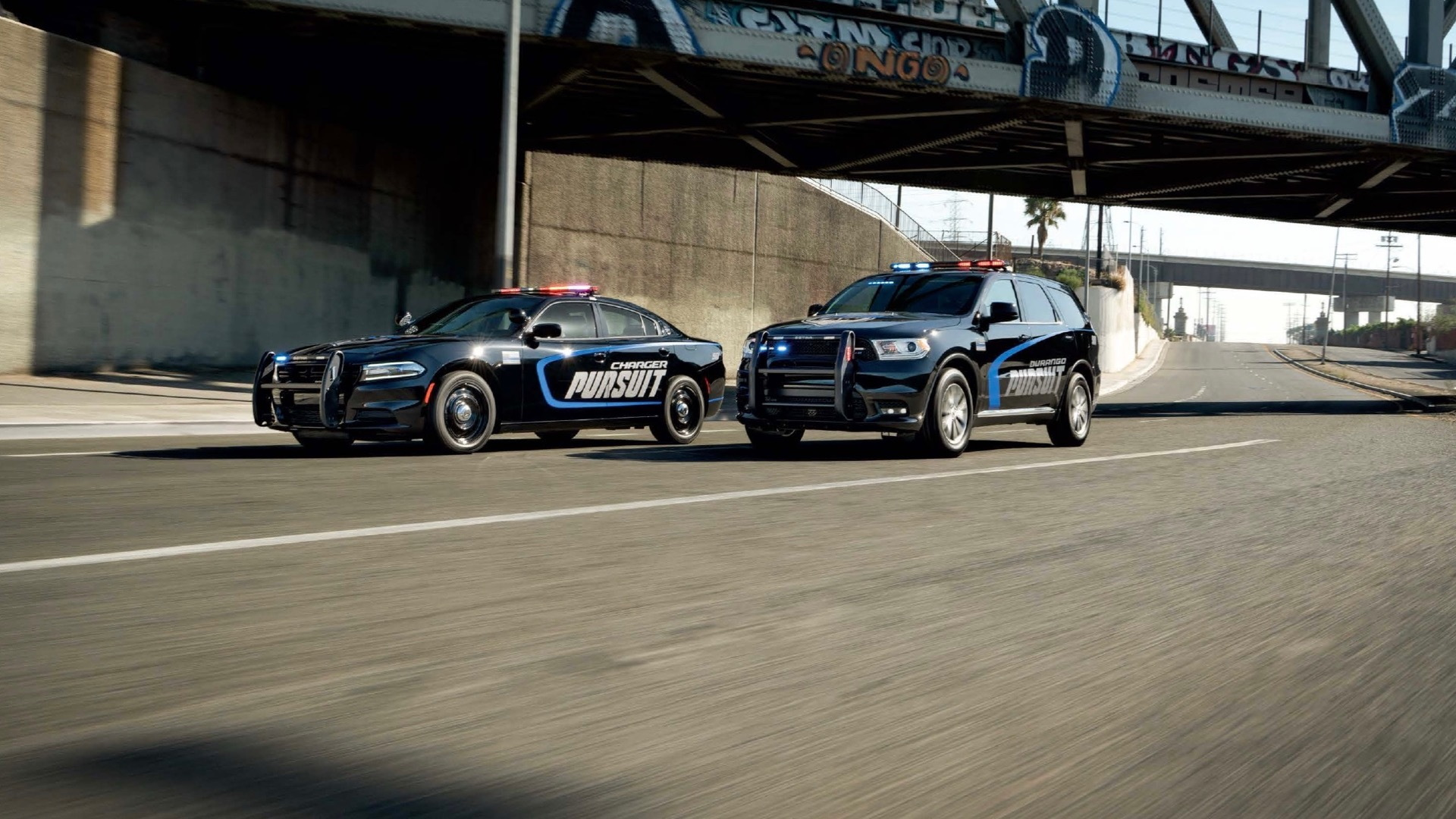 2021 Dodge Charger Pursuit and 2021 Dodge Durango Pursuit