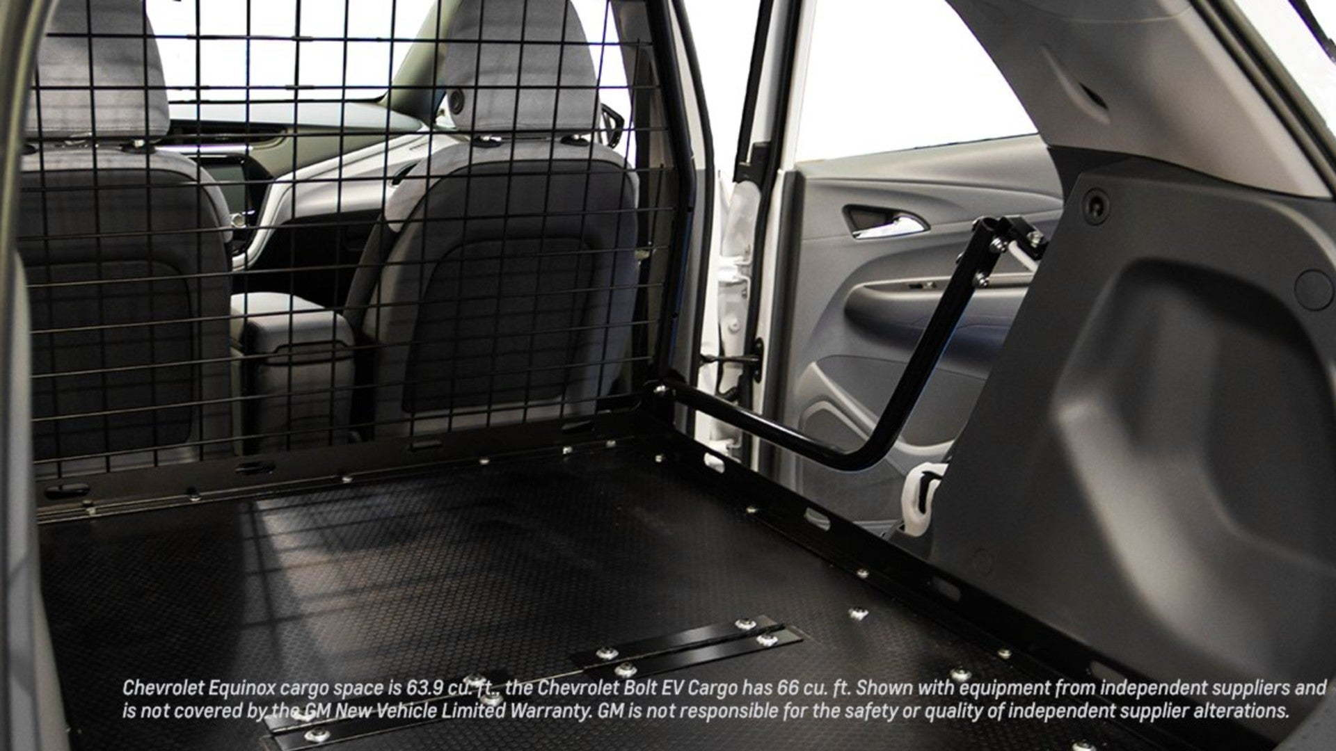 Chevrolet Bolt EV cargo van conversion